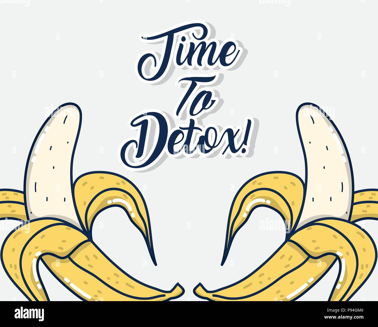 Time to detox - Stock Image