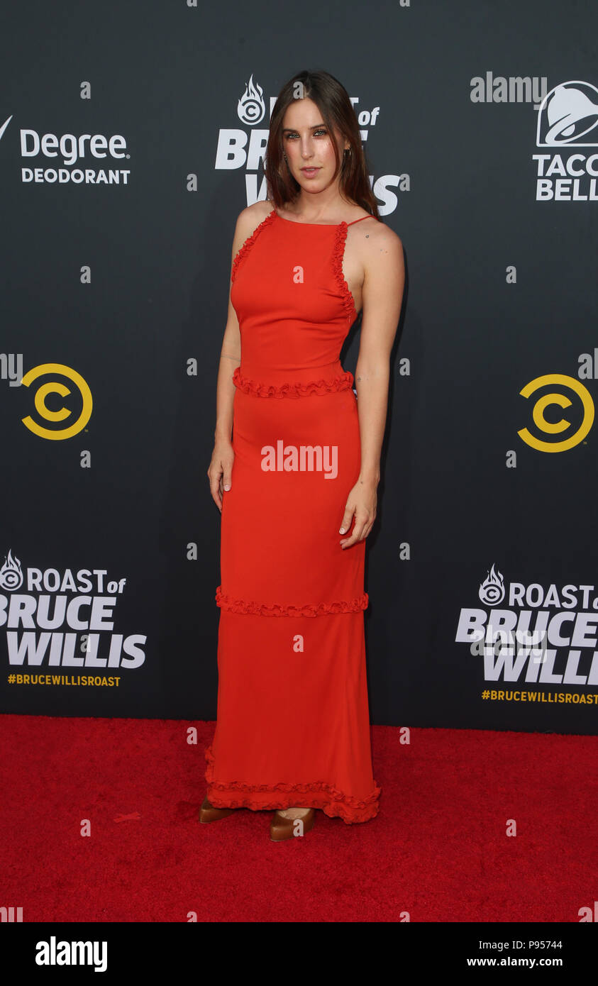 Hollywood Ca 14th July 2018 Scout Willis At Comedy Central Roast