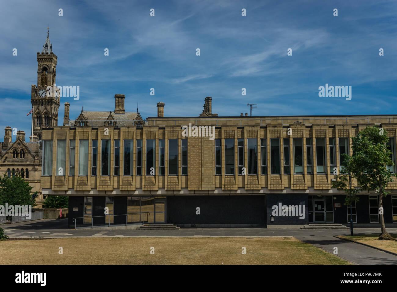 Bradford magistrates court - Stock Image
