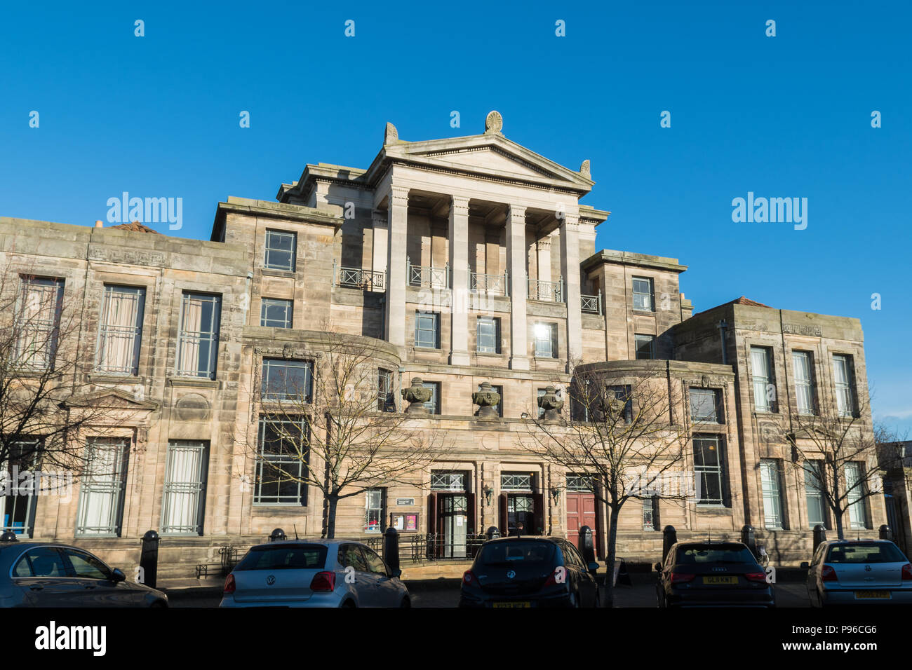 Younger Hall, graduation and concert hall University of St Andrews, St Andrews, Scotland, UK - Stock Image