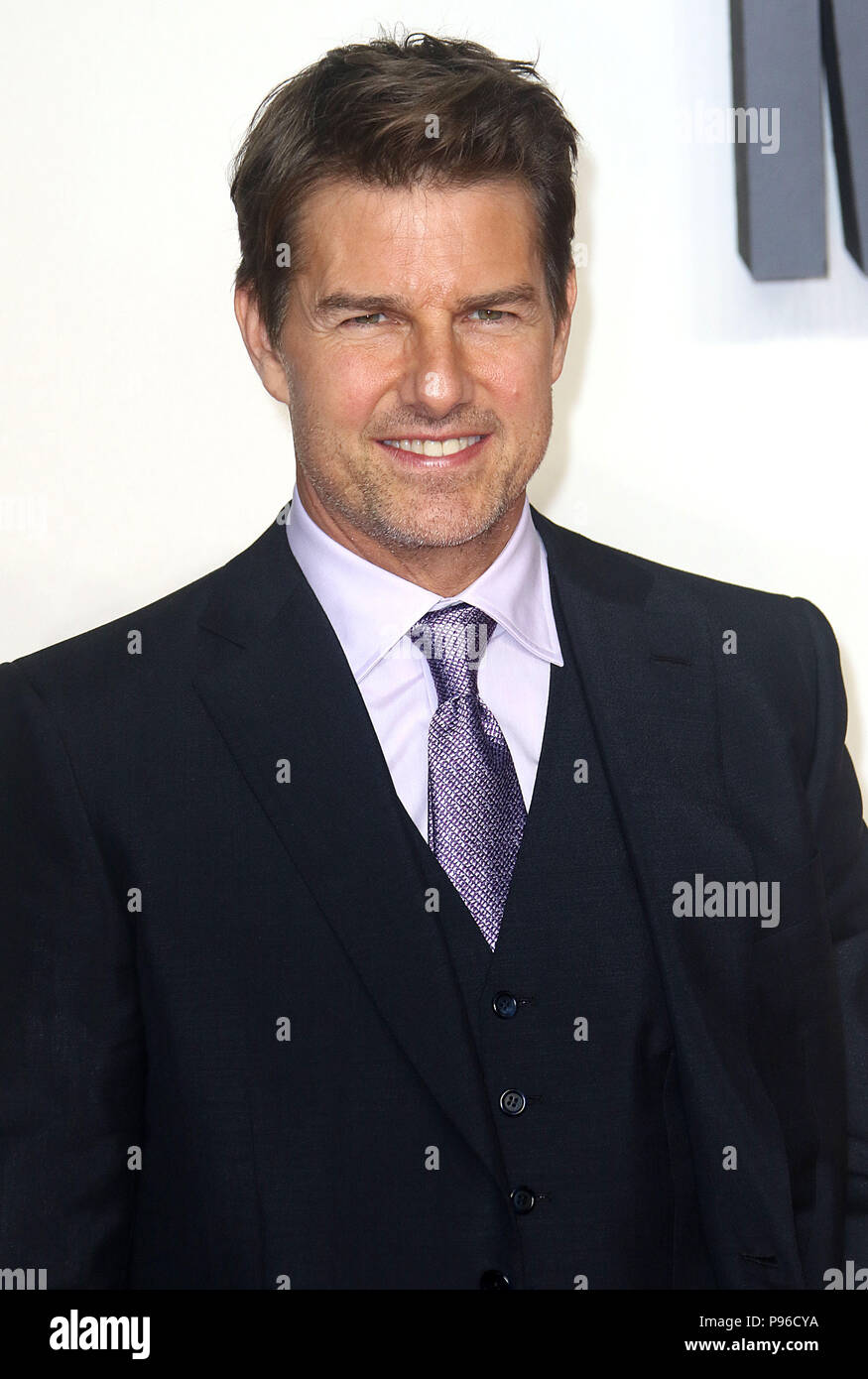 LONDON - JUN 13, 2018: Tom Cruise attends the UK Premiere of Mission: Impossible – Fallout held at the BFI IMAX Stock Photo