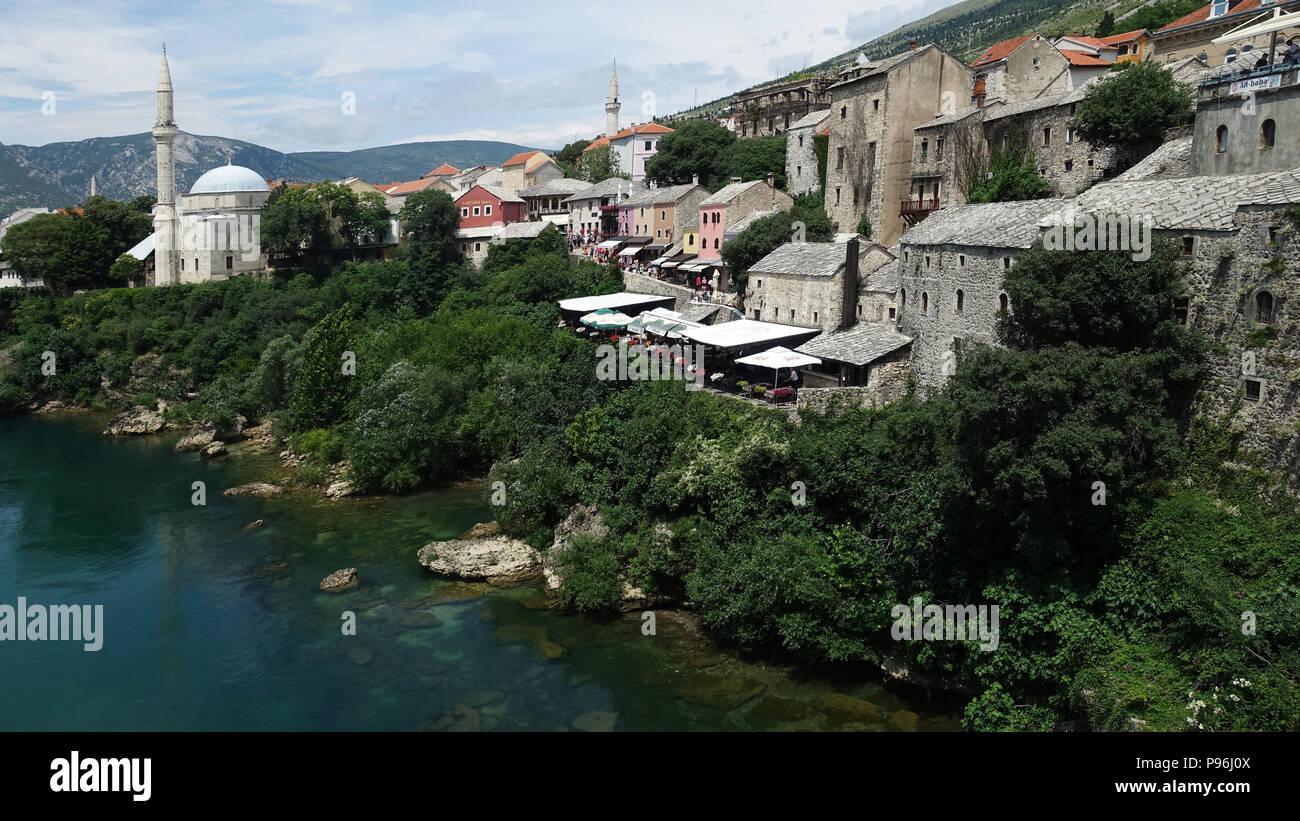 Mostar, Bosnia and Herzegovina, Balkans, Europe - Stock Image