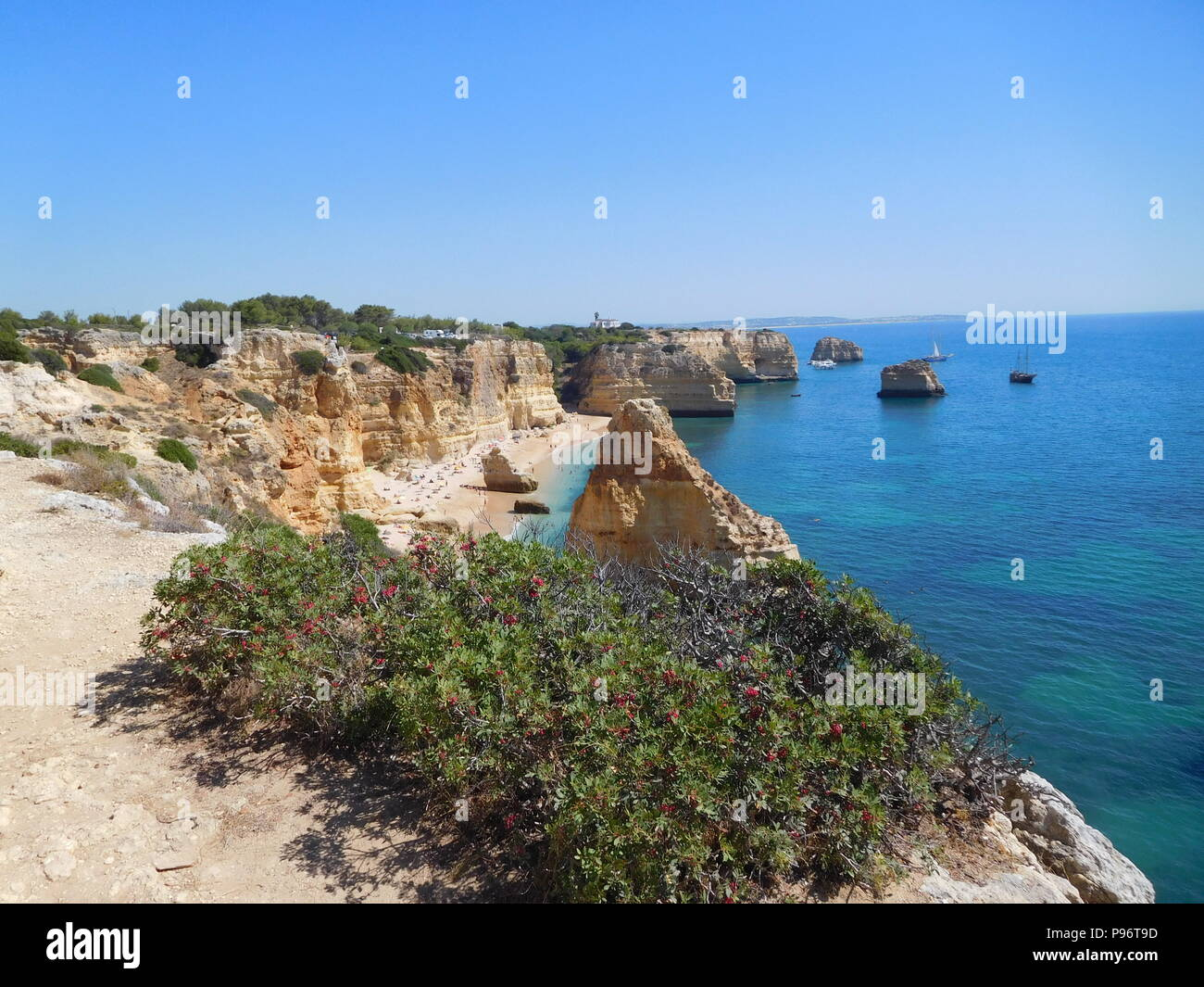 portuguese beaches - Stock Image