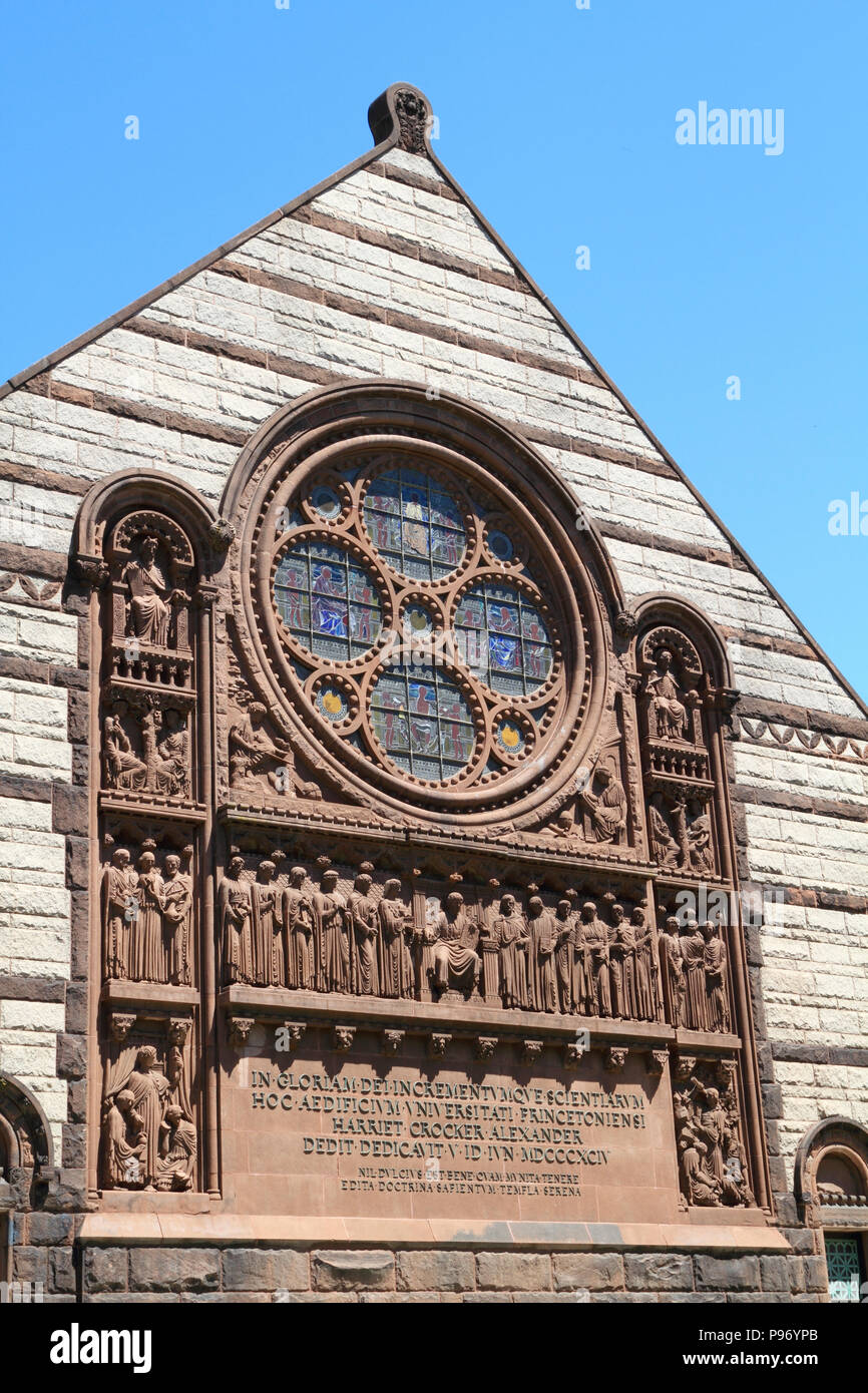 Alexander Hall, Princeton University, Princeton, New Jersey, USA - Stock Image