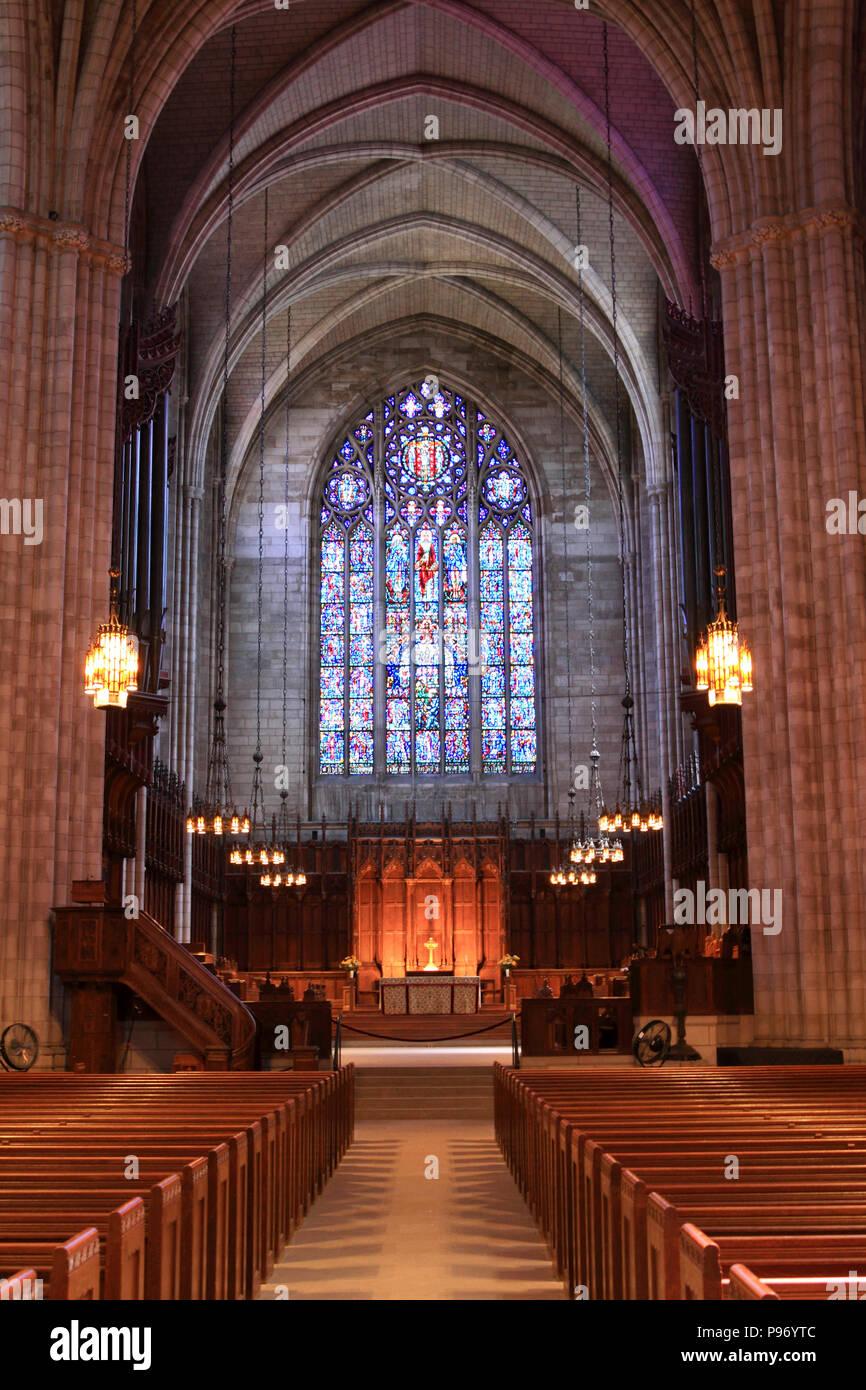 Princeton University Chapel, Princeton, New Jersey, USA - Stock Image