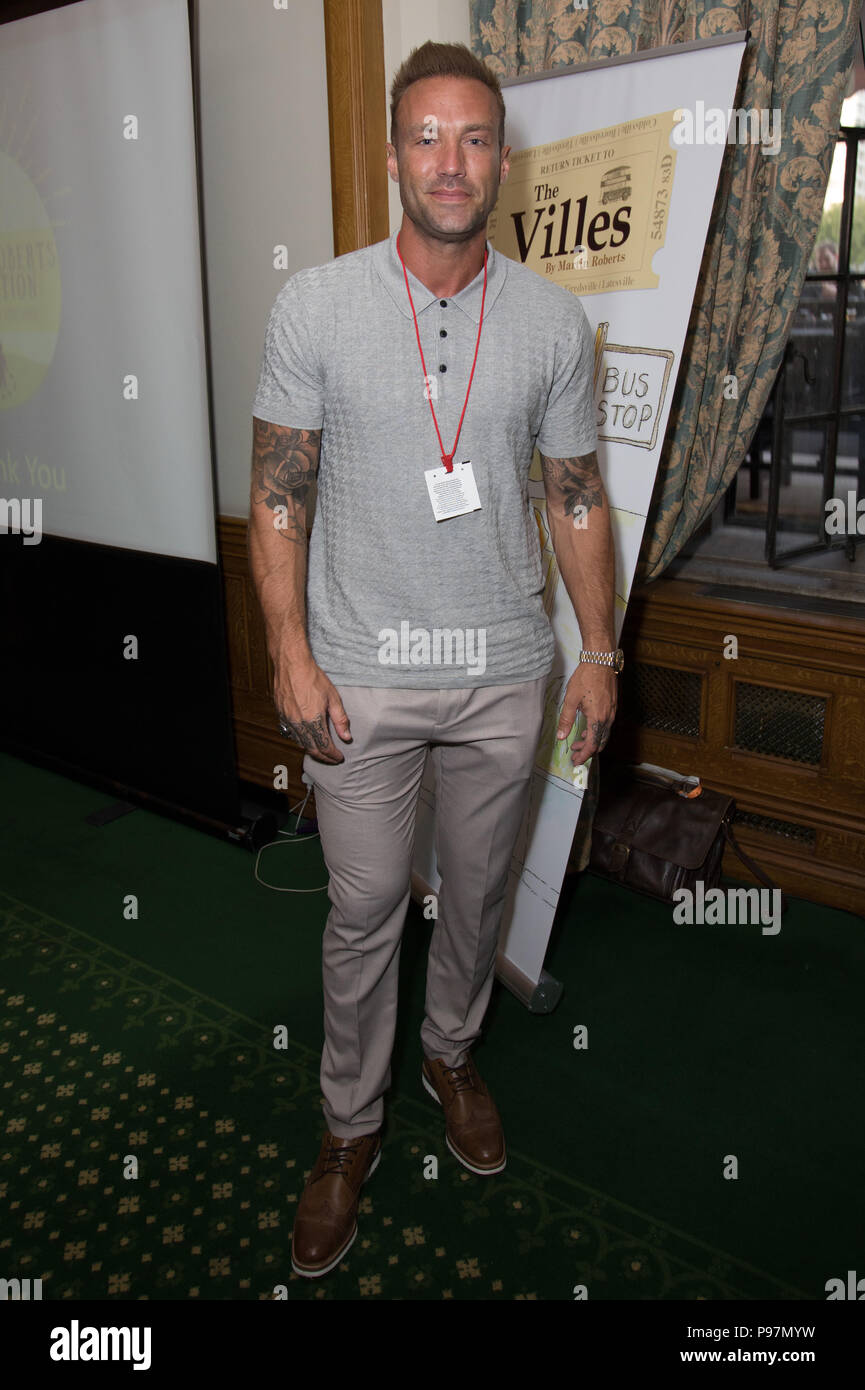 Guests attend the Martin Roberts Foundation Event  Featuring: Calum Best Where: London, United Kingdom When: 14 Jun 2018 Credit: Phil Lewis/WENN.com Stock Photo