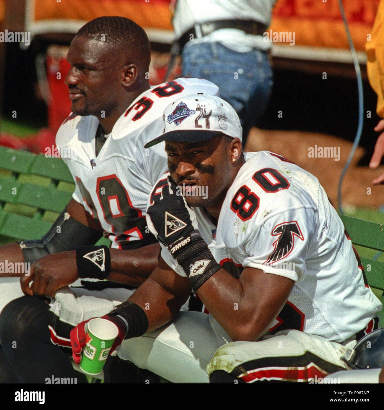 100575a9 San Francisco, California, USA. 18th Oct, 1992. San Francisco 49ers vs