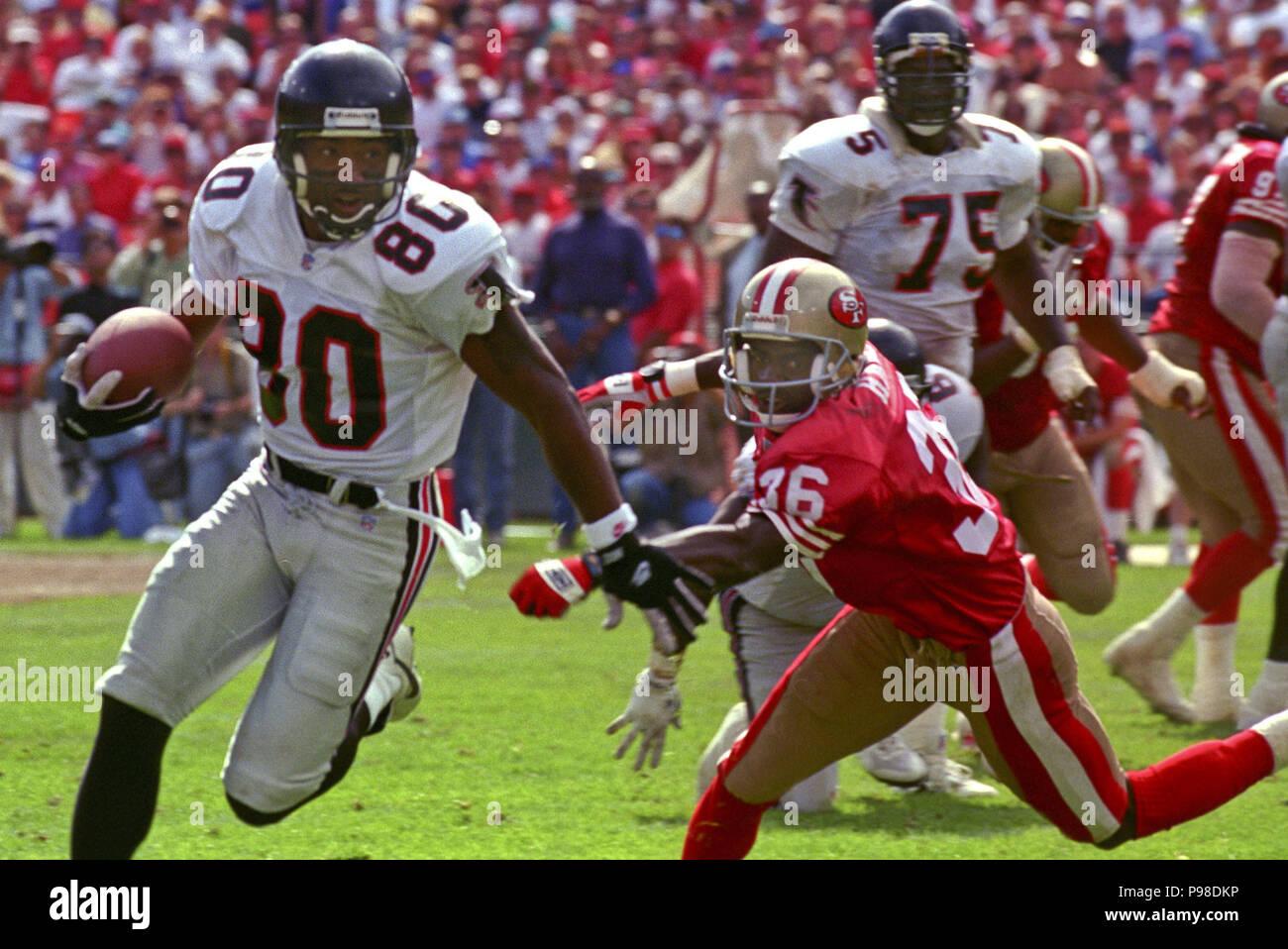 efdce200 September 19, 1993 - San Francisco, California, U.S - San Francisco 49ers vs