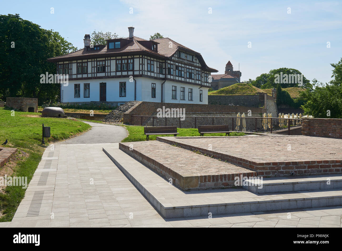 Belgrade, Serbia - May 03, 2018: Institute for Protection of Cultural Monuments of Belgrade Stock Photo