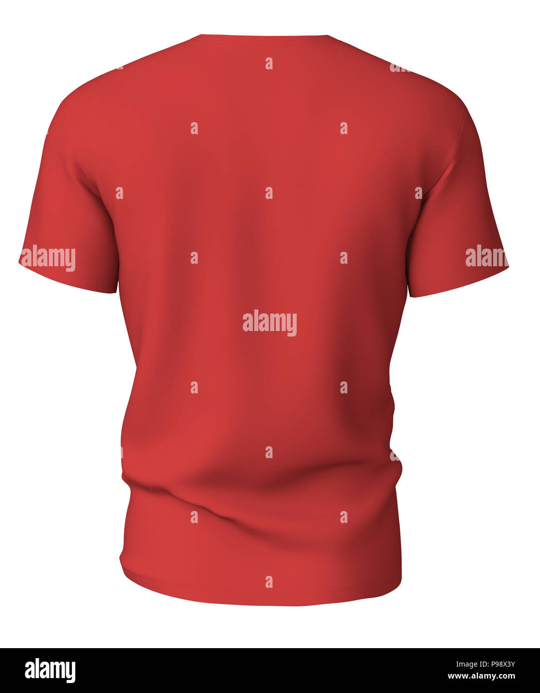 Boy Wear Red T Shirt Cut Out Stock Images Pictures Alamy