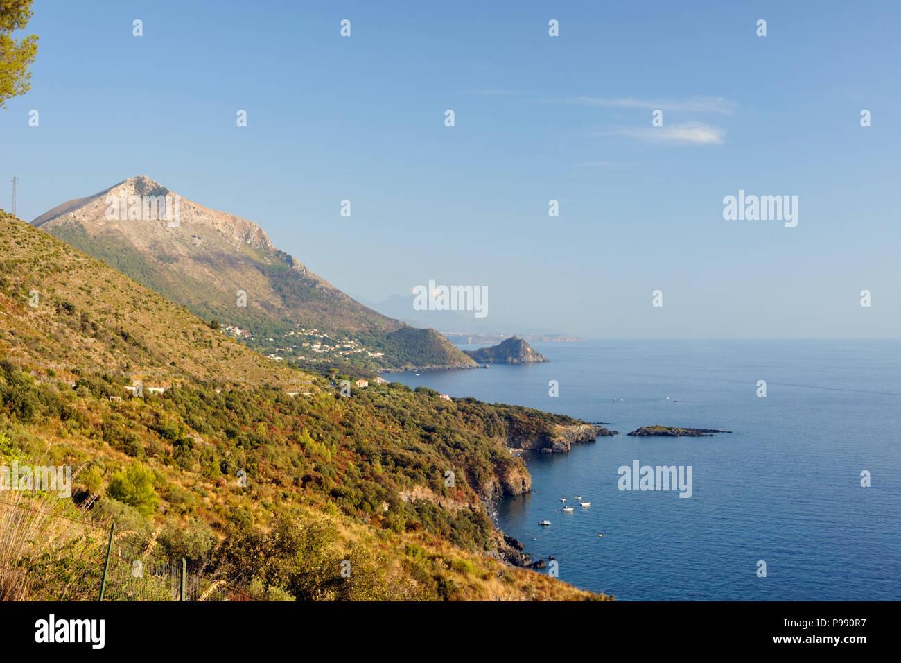 italy, basilicata, maratea, coast Stock Photo