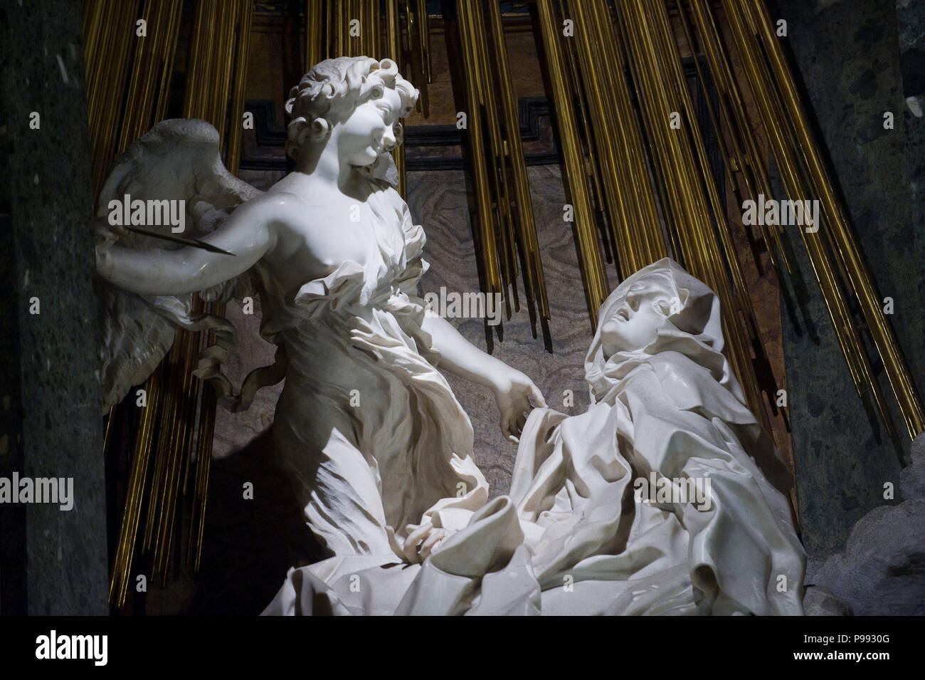Sculpture Gian Lorenzo Bernini Stock Photos & Sculpture Gian
