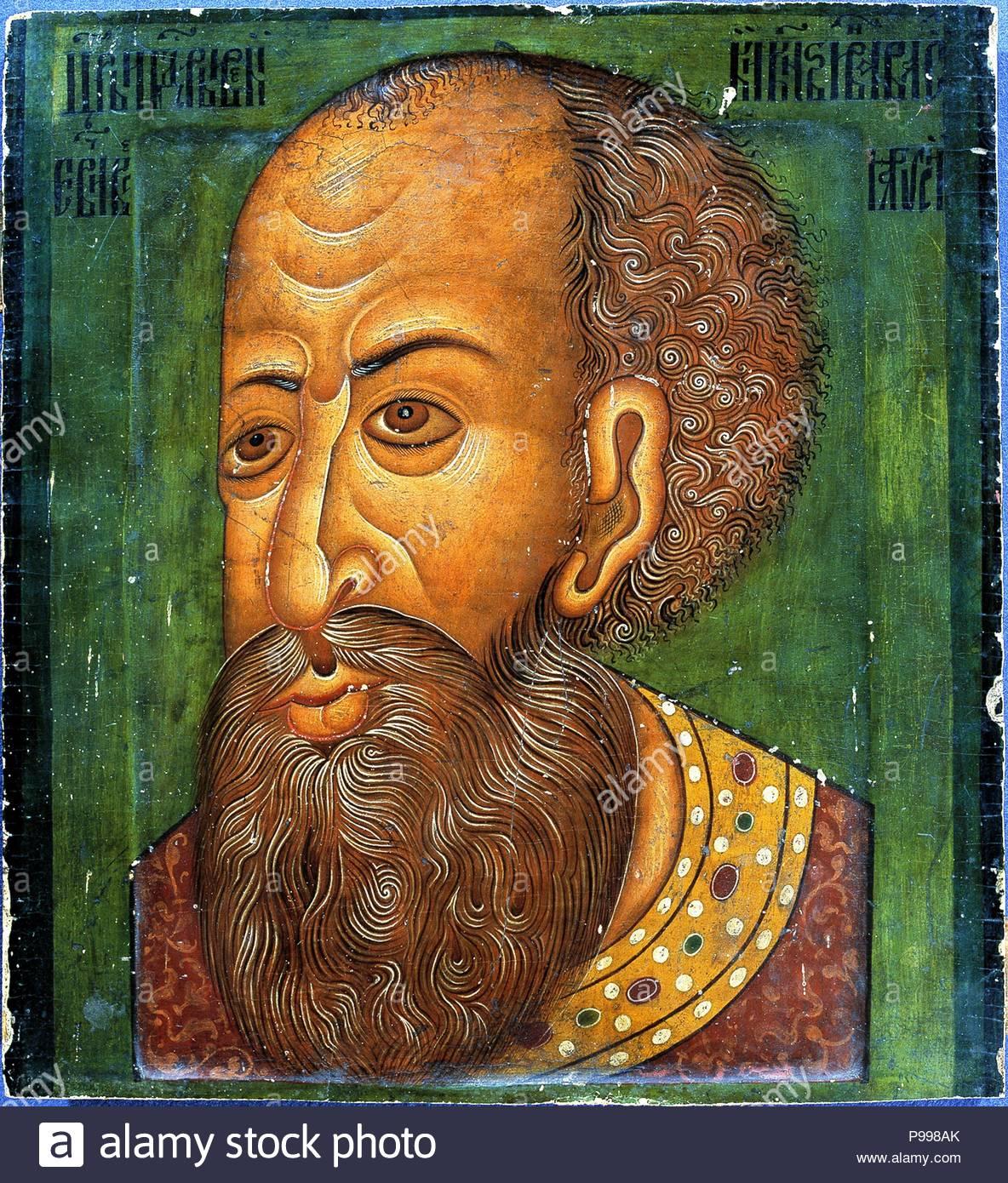 Ivan IV the Terrible. Museum: Nationalmuseet, Copenhagen. - Stock Image