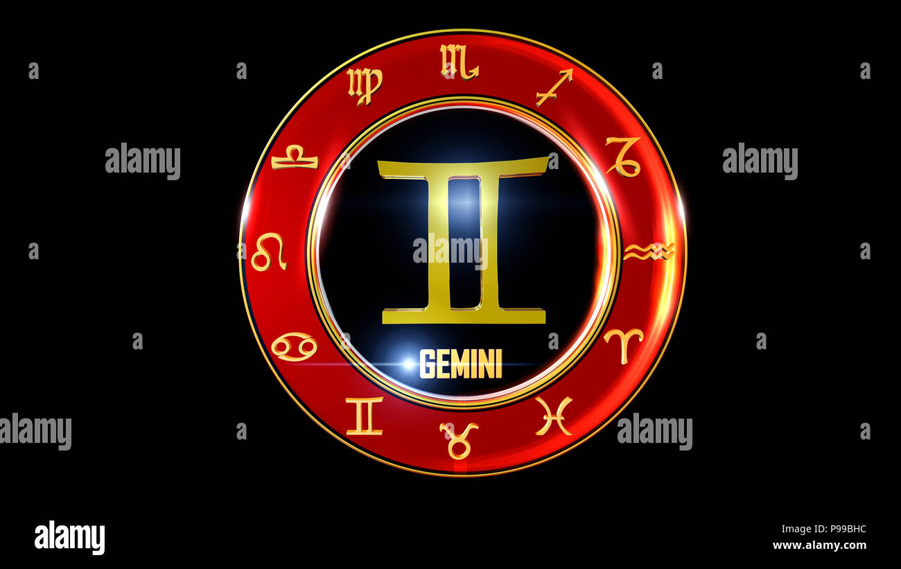 zodiac sign Stock Photo