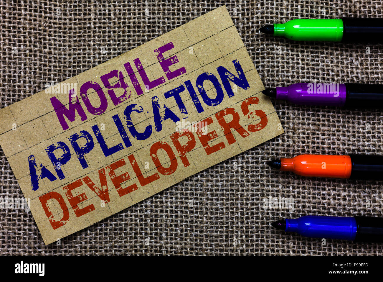 Handwriting text writing Mobile Application Developers