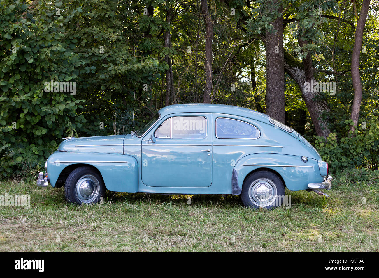 Emmering Stock Photos Images Alamy Volvo Pv444 Wiring Diagram Vintage Car Electrical Germany 19 September 2015 Image