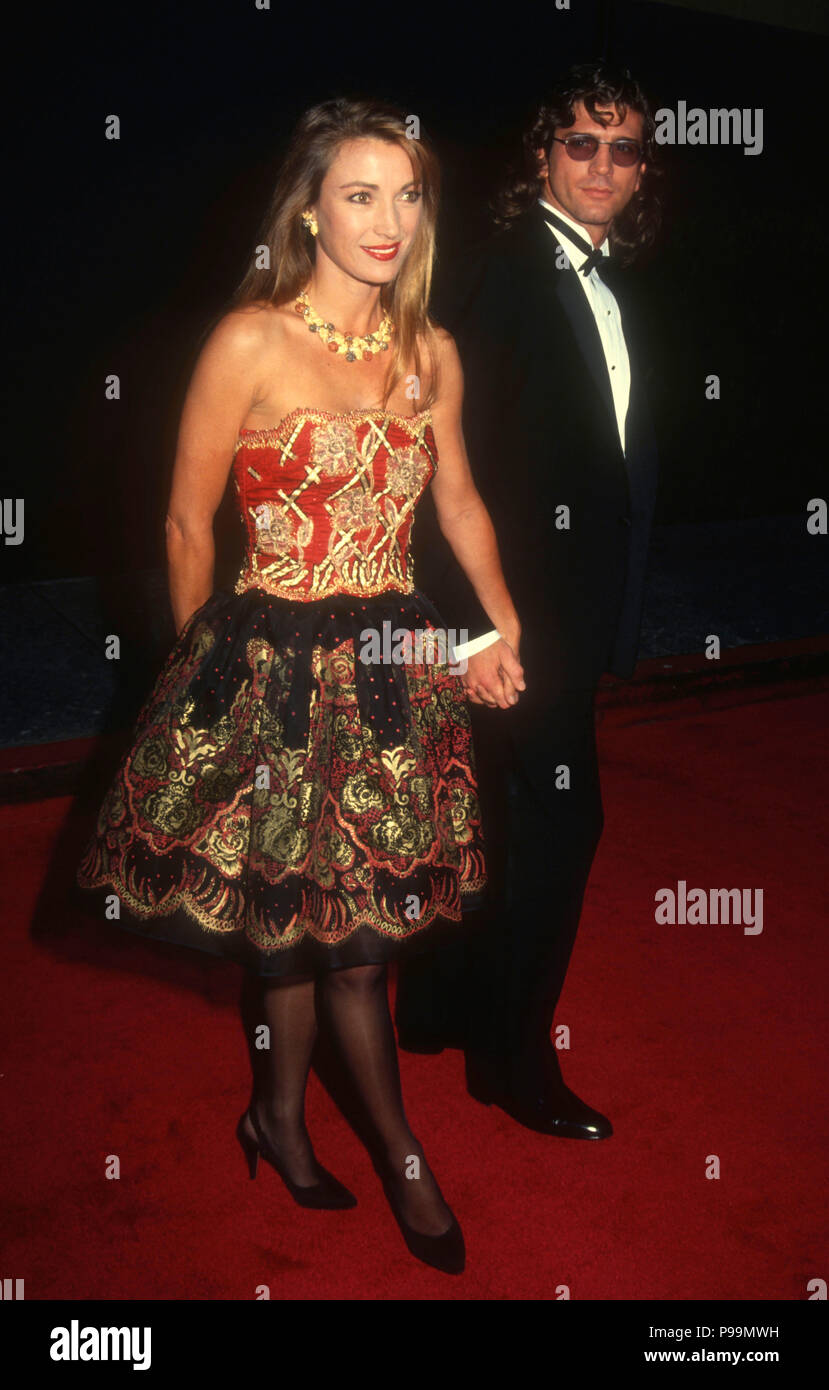 BEVERLY HILLS, CA - MARCH 17: (L-R) Actress Jane Seymour and actor