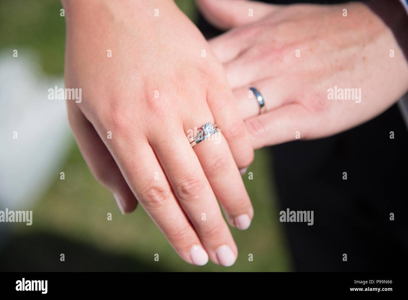 Jewellery Rings Fingers Stock Photos & Jewellery Rings Fingers Stock ...