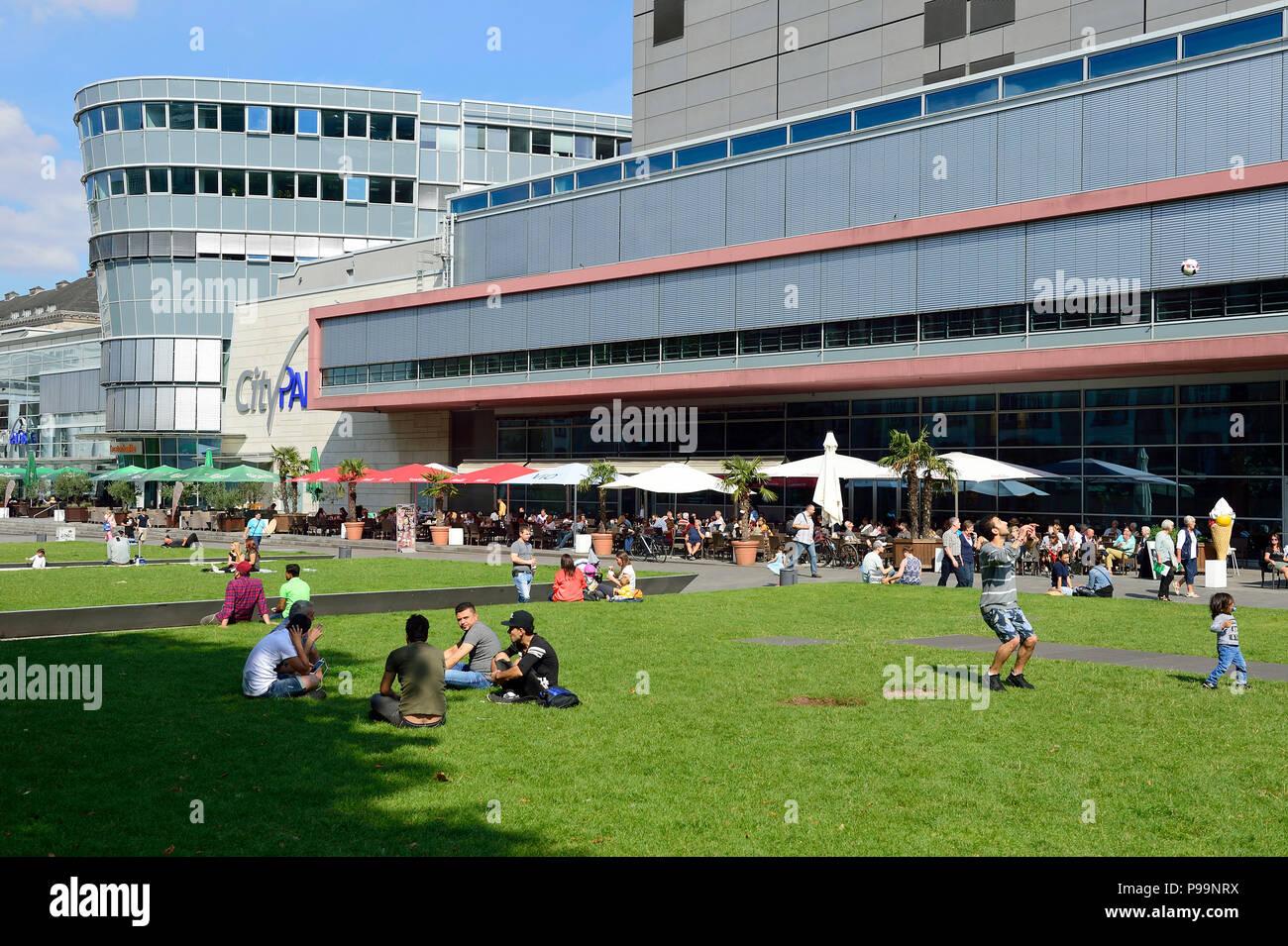 Germany, North Rhine-Westphalia downtown Duisburg - Stock Image