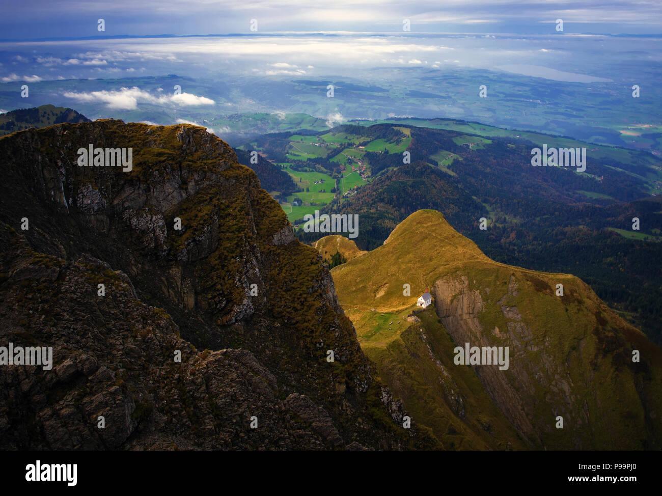 Pilatus Mountain Stock Photo