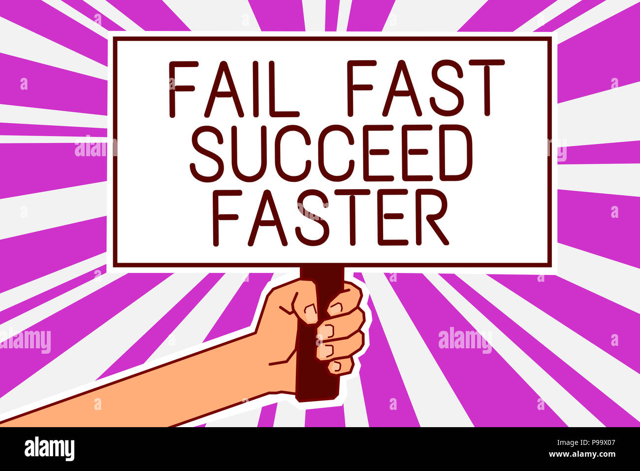 fail faster poster