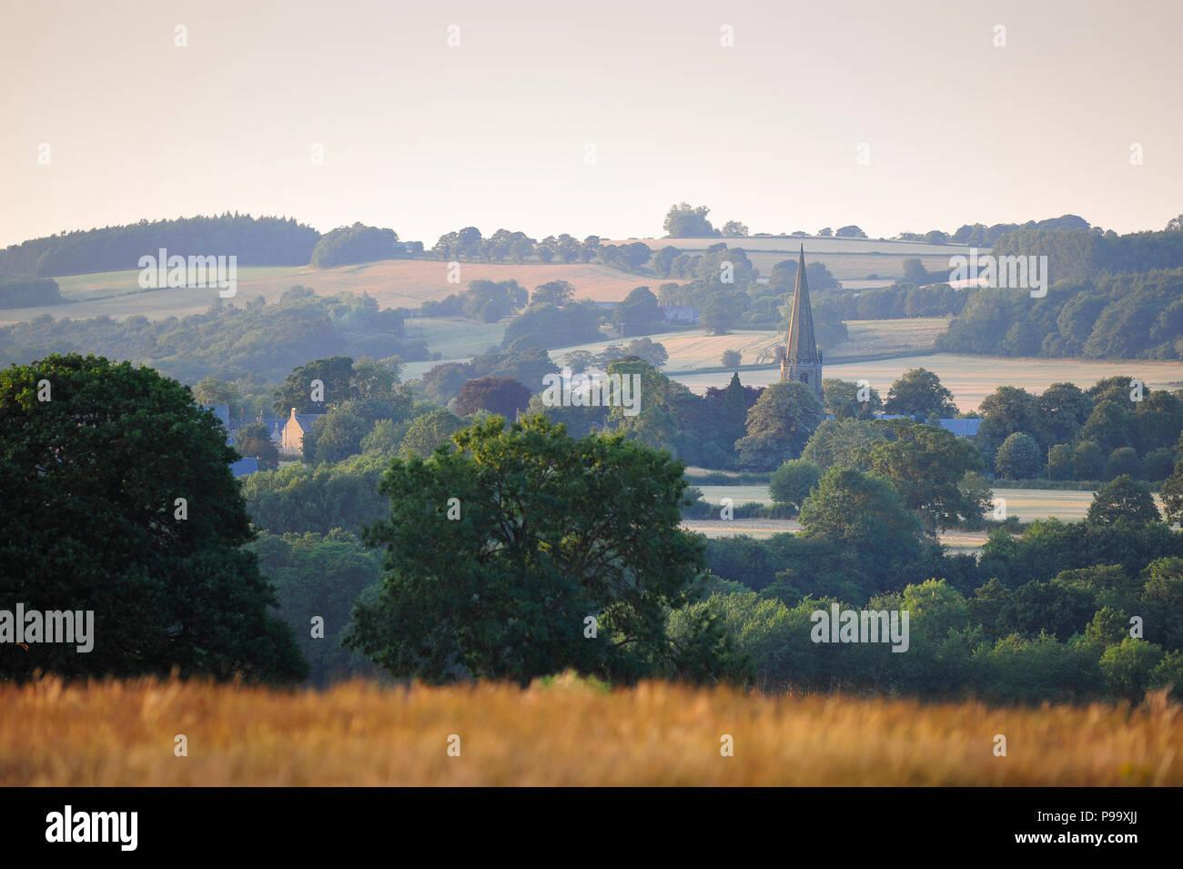 Masham North Yorkshire England UK Stock Photo