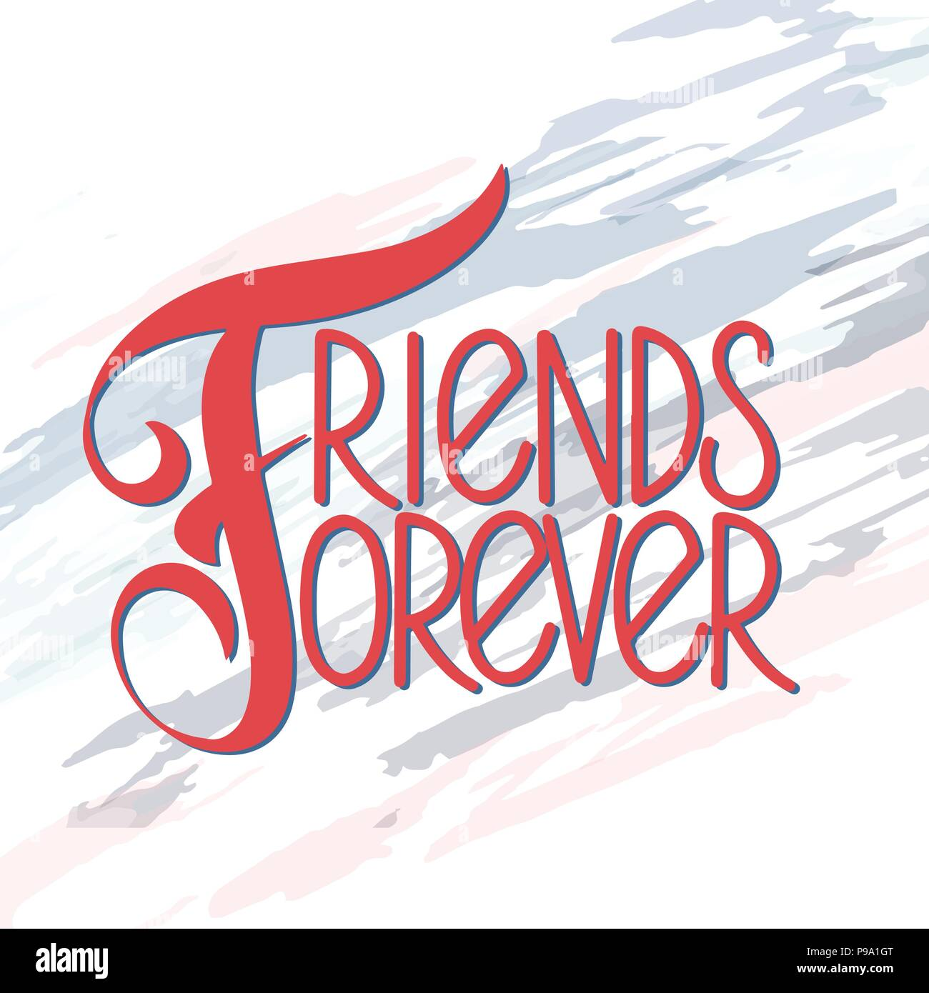 Friendship day hand drawn lettering friends forever vector friendship day hand drawn lettering friends forever vector elements for invitations posters greeting cards t shirt design friendship quotes m4hsunfo