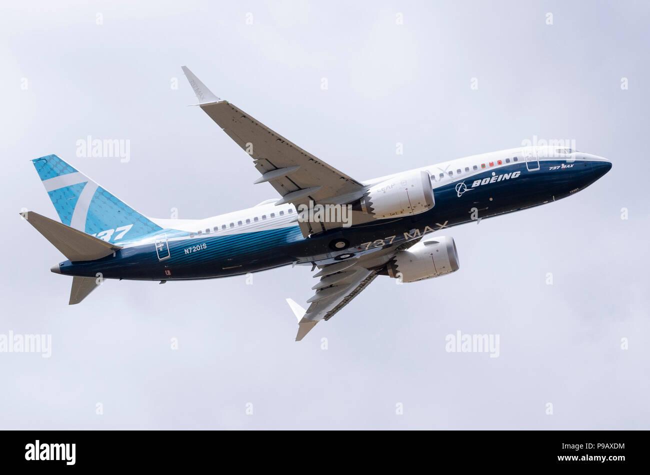 Boeing Max Plane Stock Photos & Boeing Max Plane Stock