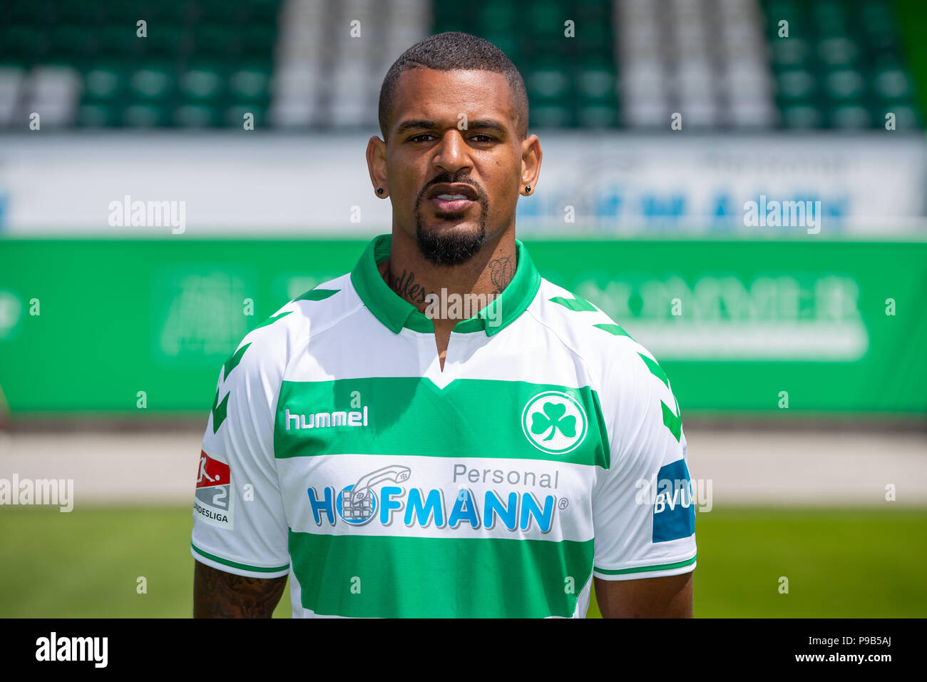 Furth Deutschland 11th July 2018 Soccer 2nd Bundesliga Photo Session Greuther