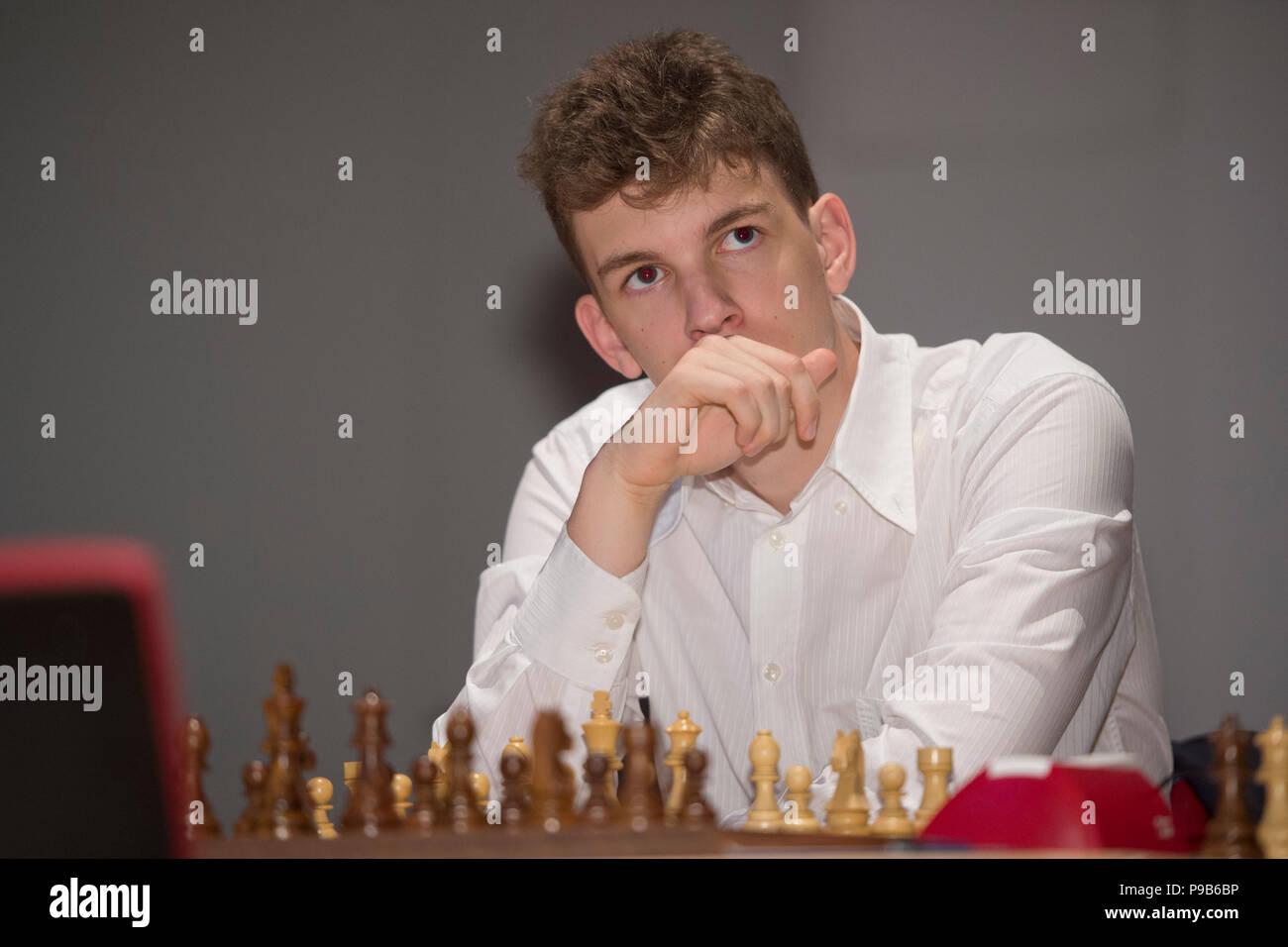 Jan Krzysztof Duda Poland Pol First Matchday Of The Sparkassen Chess Meeting 2018 On 14 07 2018 In Dortmund Usage Worldwide Stock Photo Alamy
