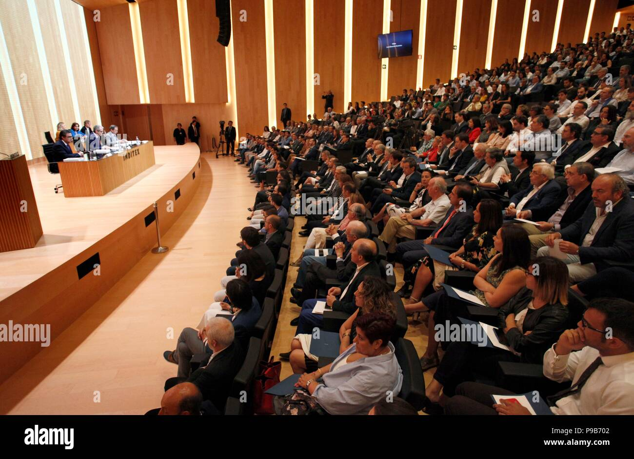 View of the INDITEX's general meeting of shareholders in