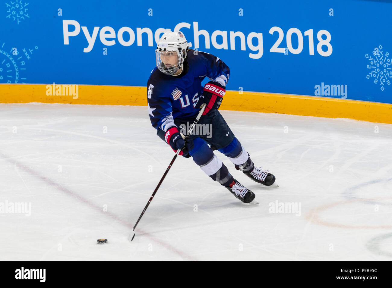 Kali Flanagan Usa During The Gold Medal Women S Ice Hockey Game