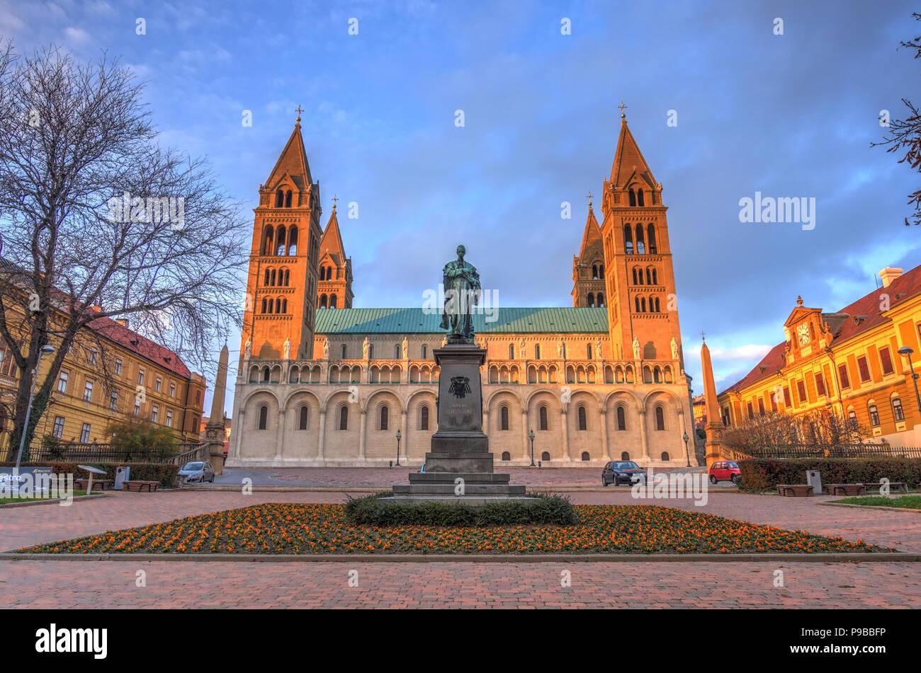 Pecs, Hungary - Stock Image