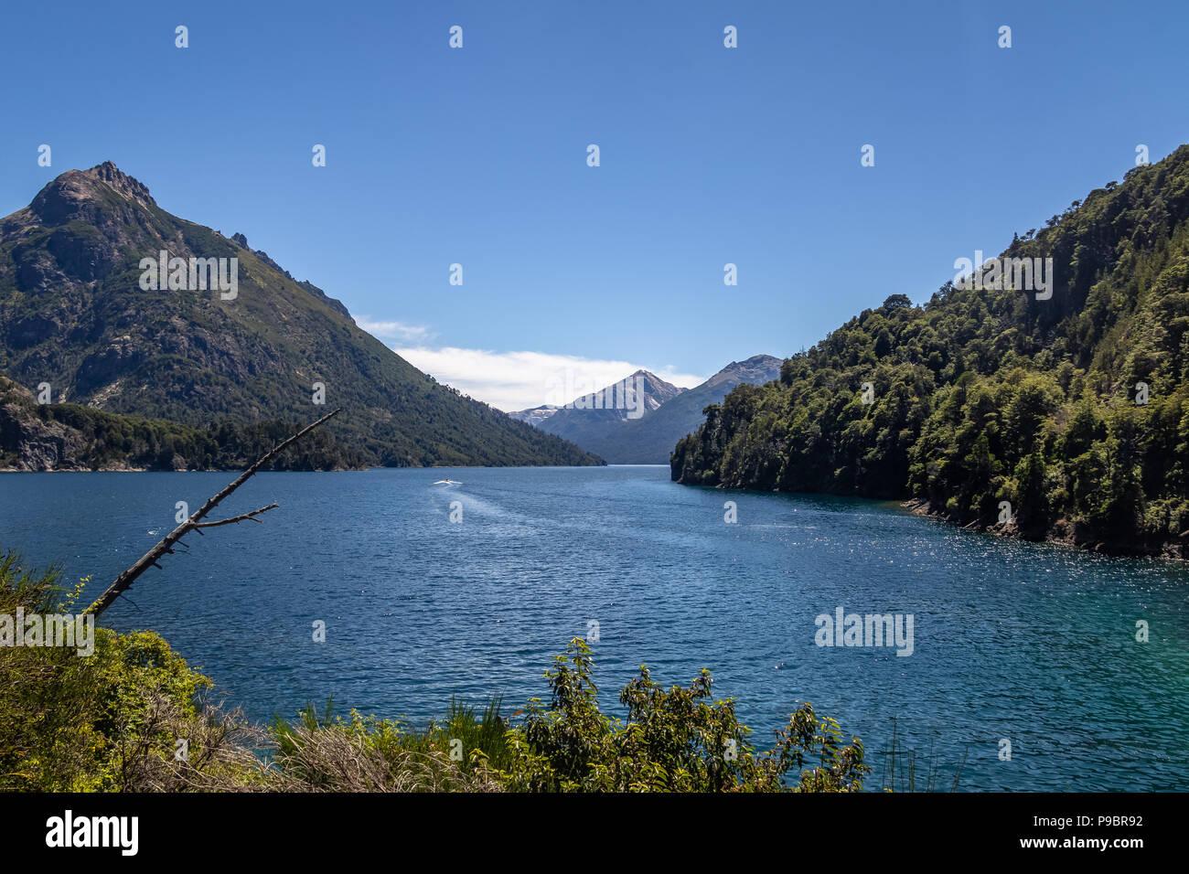 Circuito Chico : Bahia lopez lopez bay at circuito chico bariloche patagonia