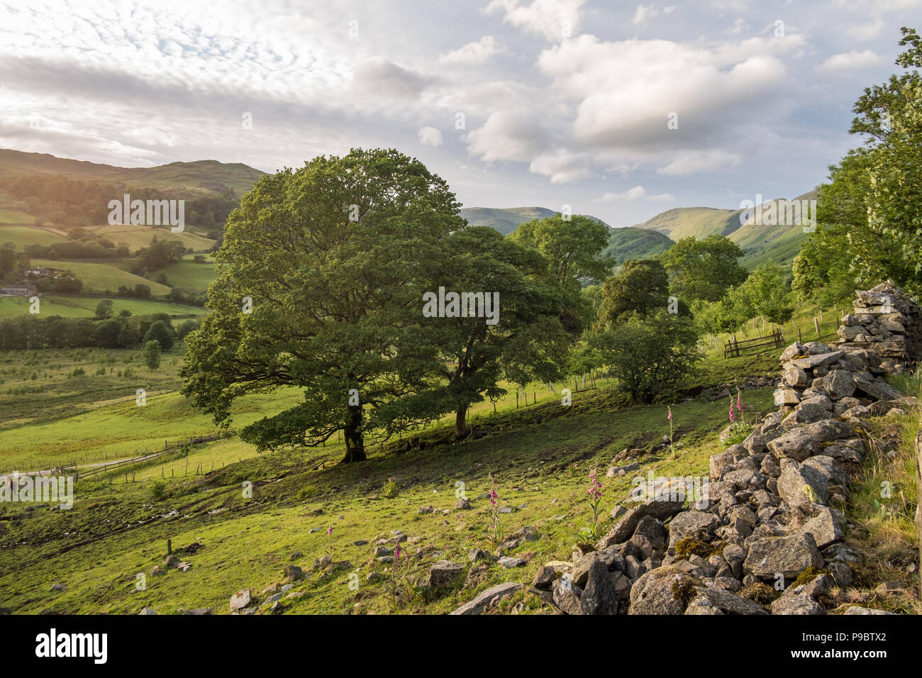 Troutbeck, Cumbria United Kingdom - Stock Image