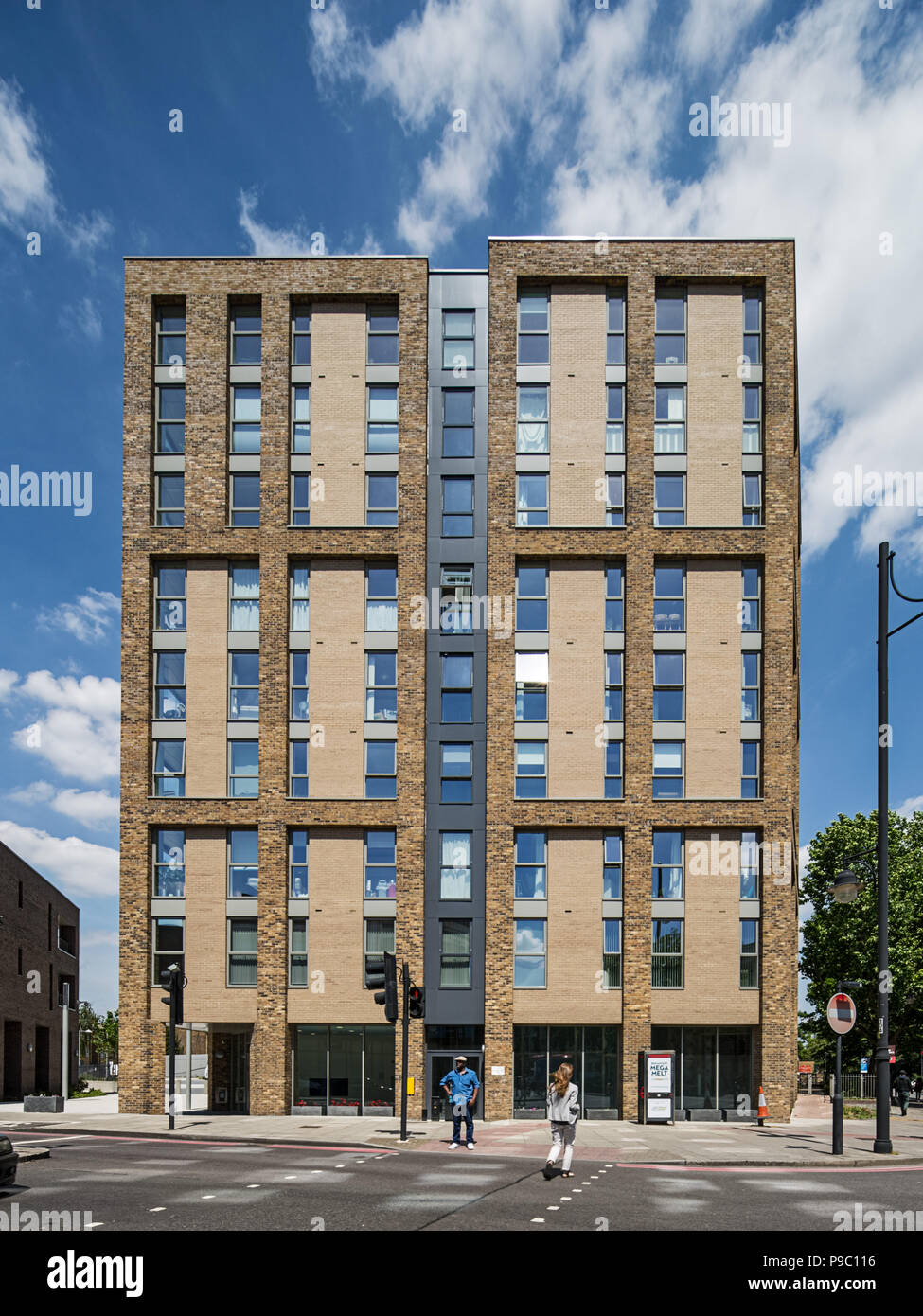 The Junction, Brixton - an urban regeneration project - Stock Image