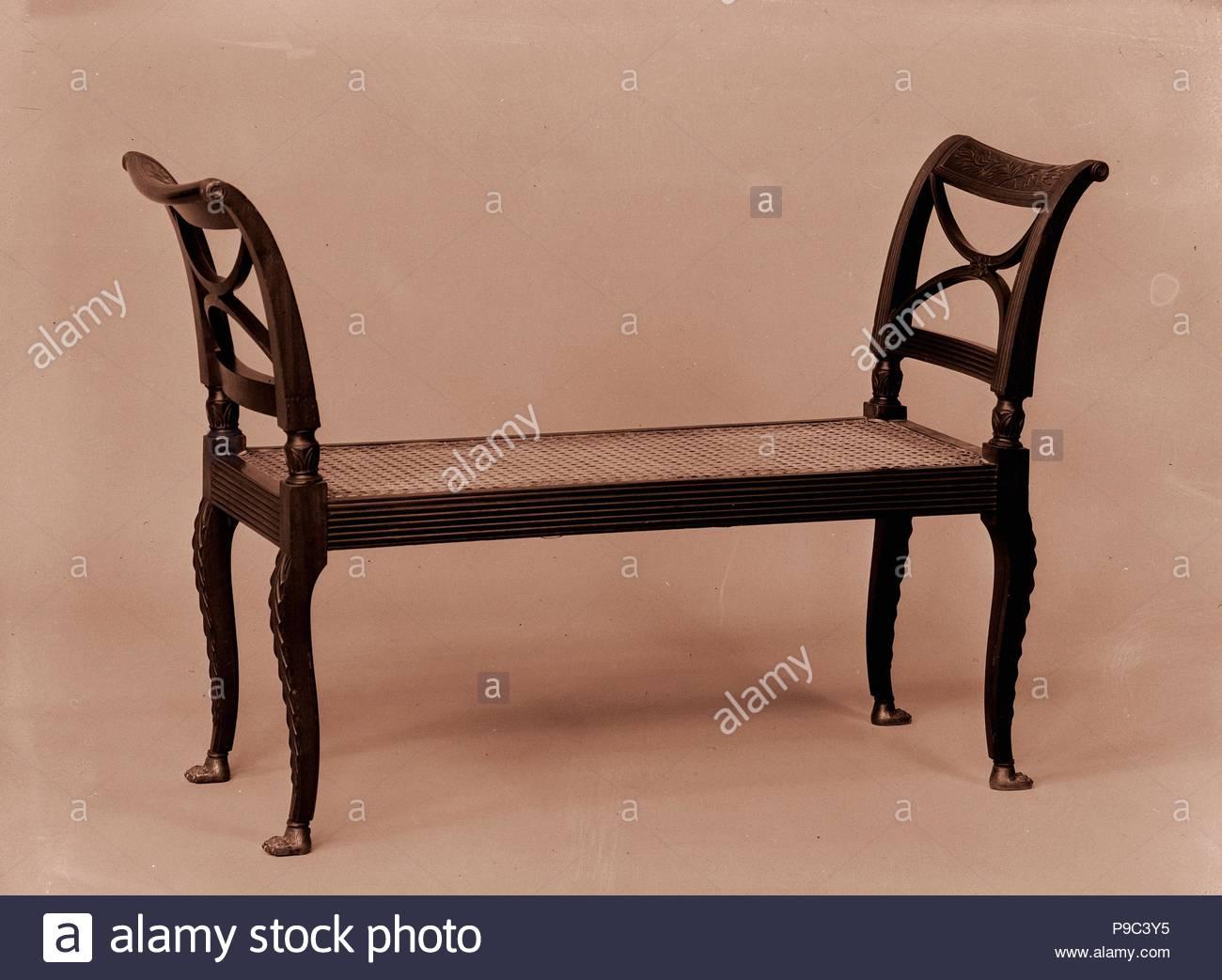 Window Seat, 1810–20, Made in New York, New York, United