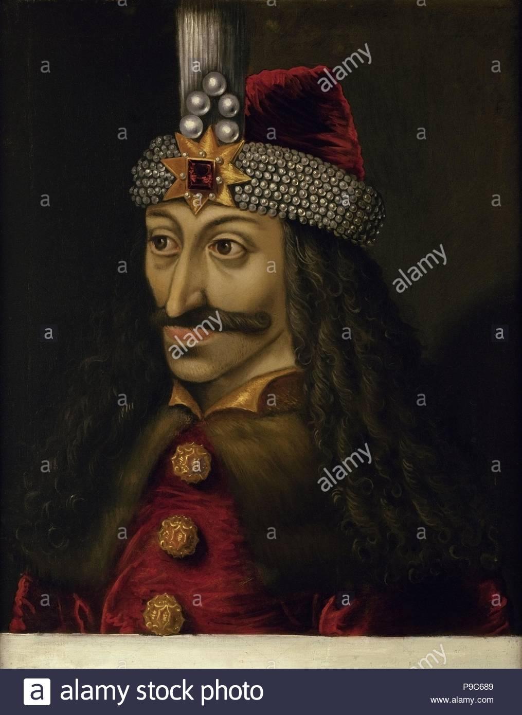 Vlad III, Prince of Wallachia (1431-1476). Museum: Ambras Castle, Innsbruck.