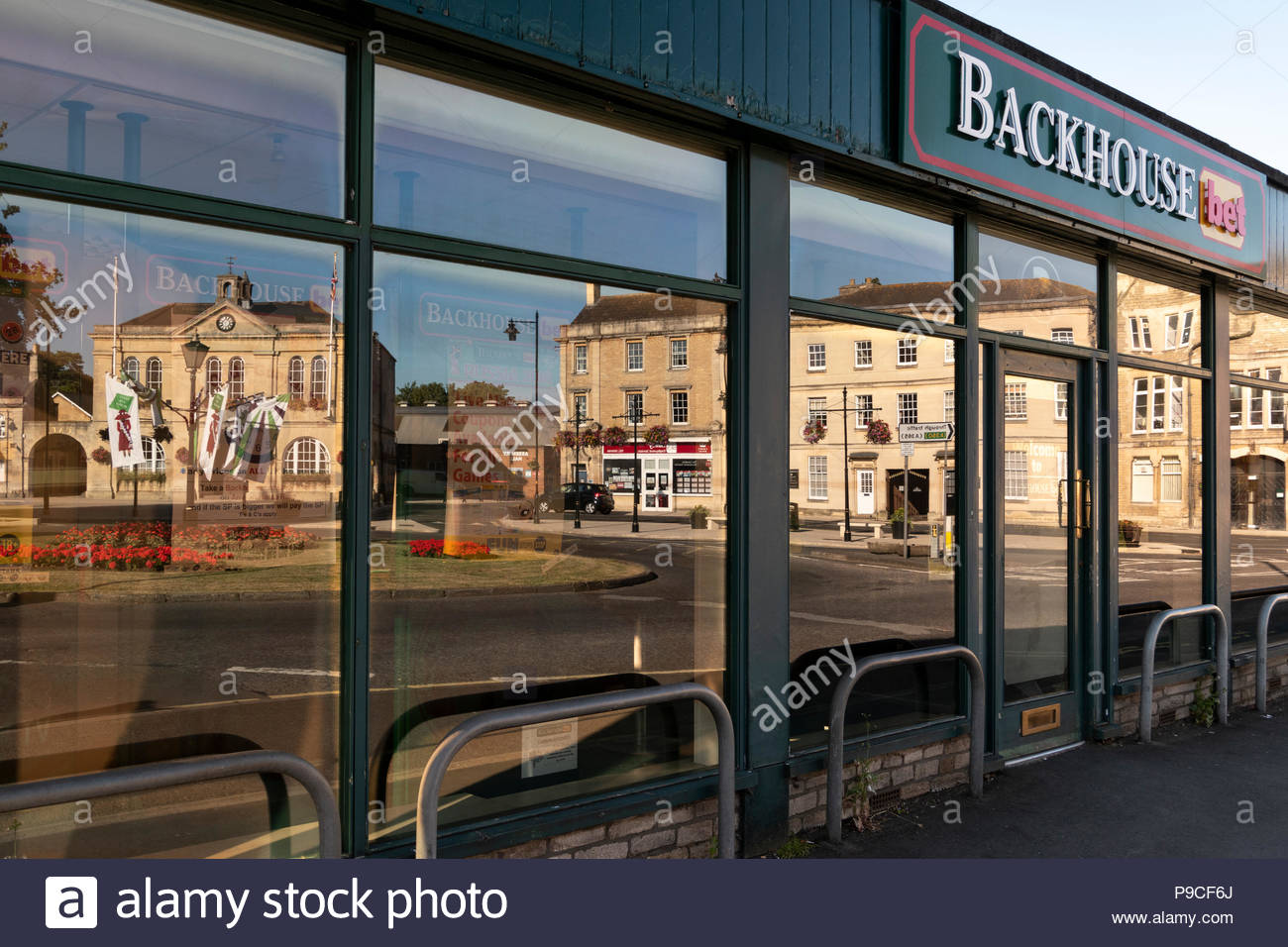 plate glass windows glass window sill view of the plate glass windows betting shop backhouse bet reflecting public offices plate glass windows stock photos images