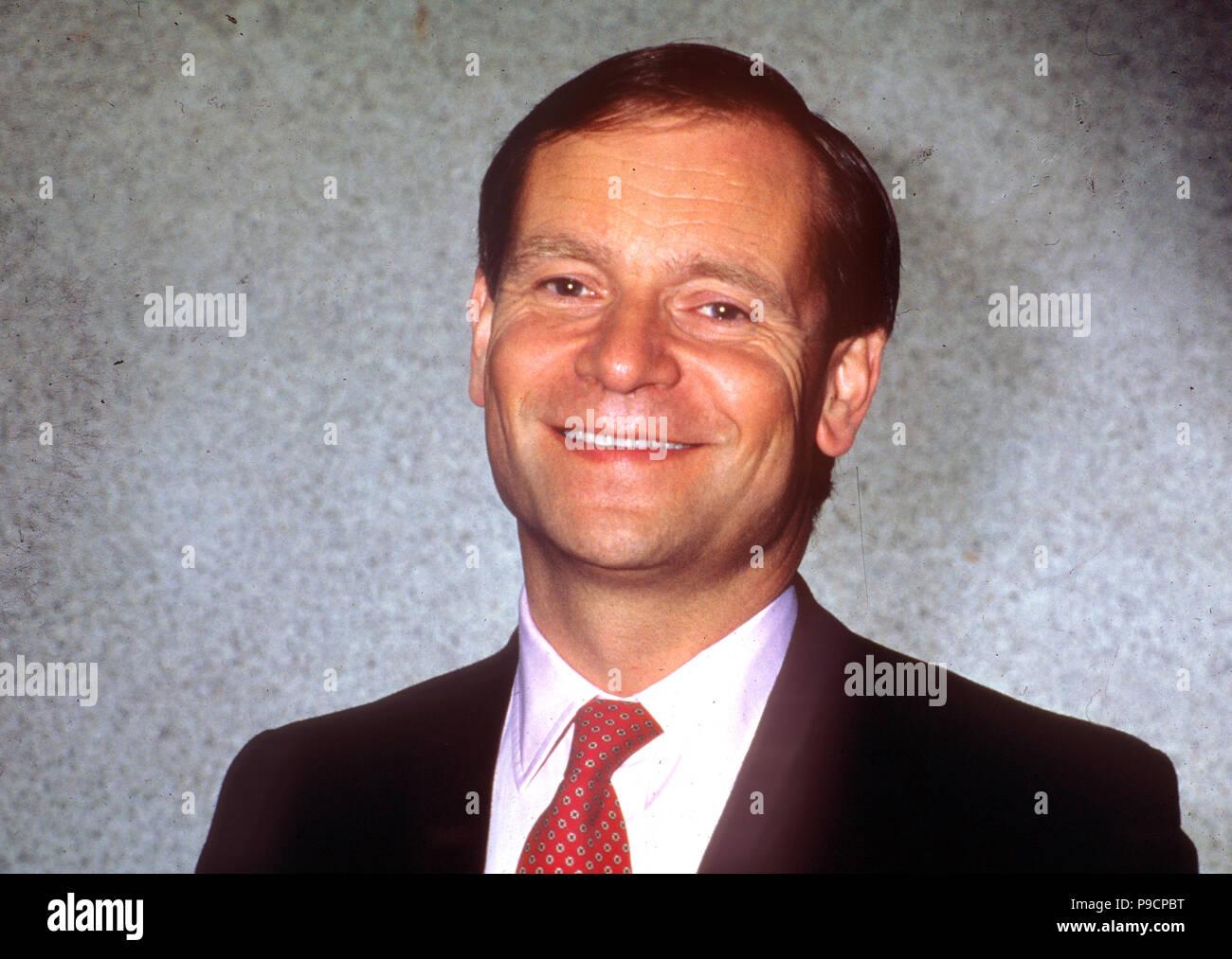 JEFFREY ARCHER English politician and novelist about 1990 - Stock Image