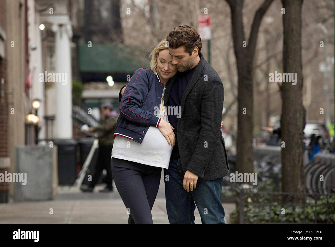 LIFE ITSELF 2018 FilmNation Entertainment production with Olivia Wilde and Oscar Isaac - Stock Image