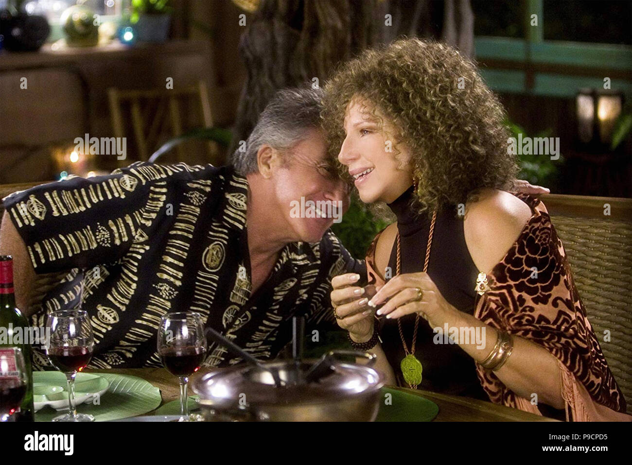 MEET THE FOCKERS  2004 Universal Pictures film with from Dustin Hoffman and Barbra Streisand - Stock Image