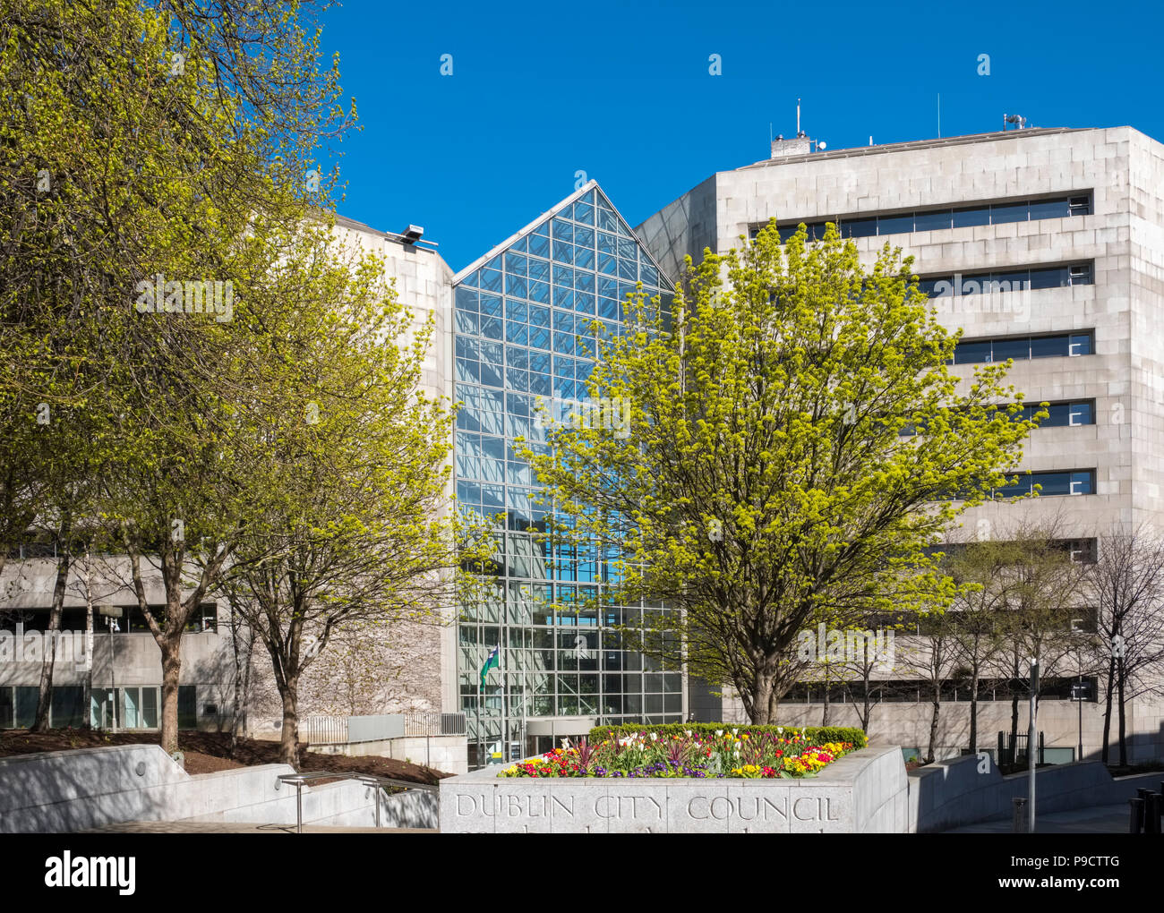 Dublin City Council offices, Dublin, Ireland, Europe - Stock Image