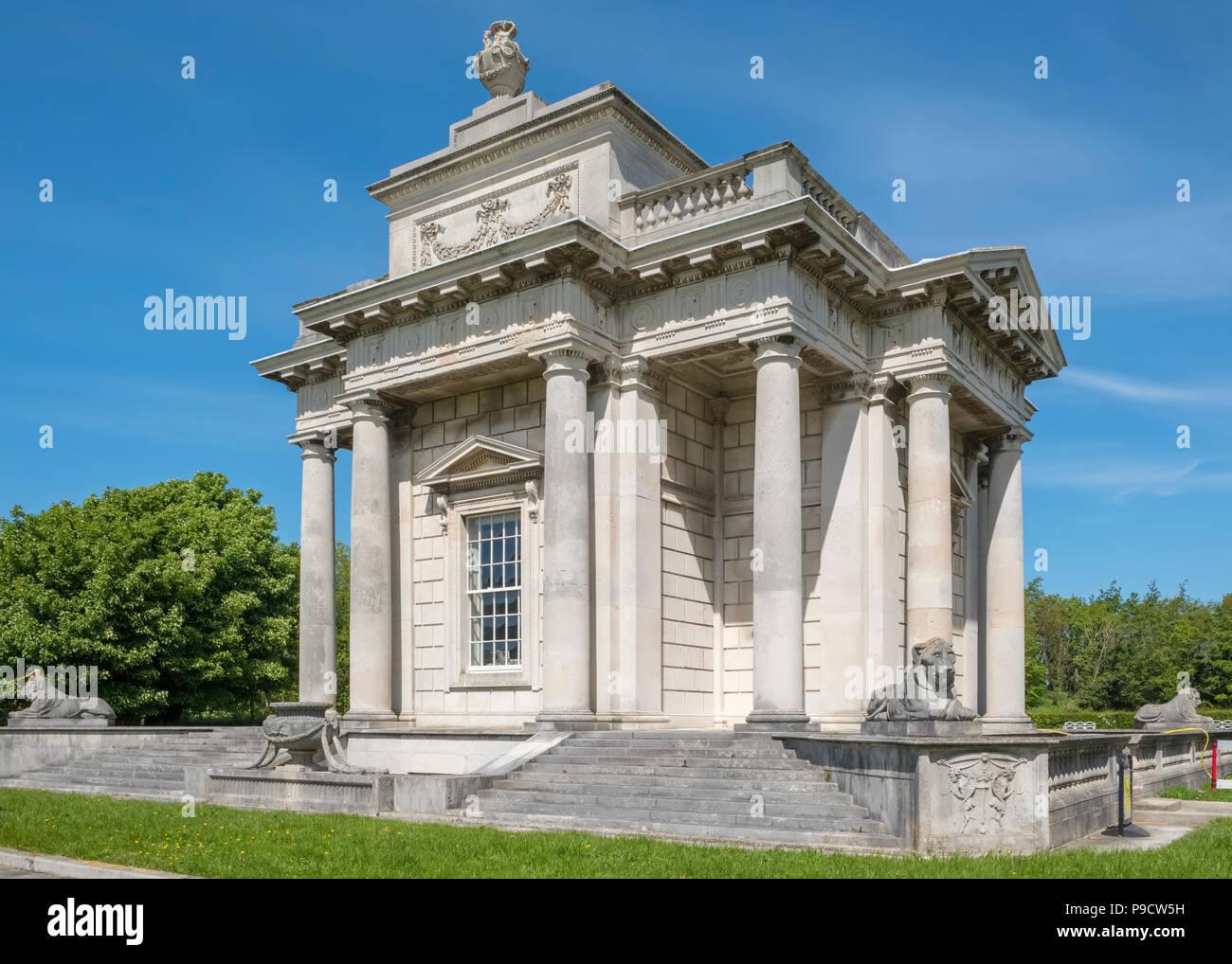 The Casino at Marino, Dublin, Ireland, Europe - Stock Image