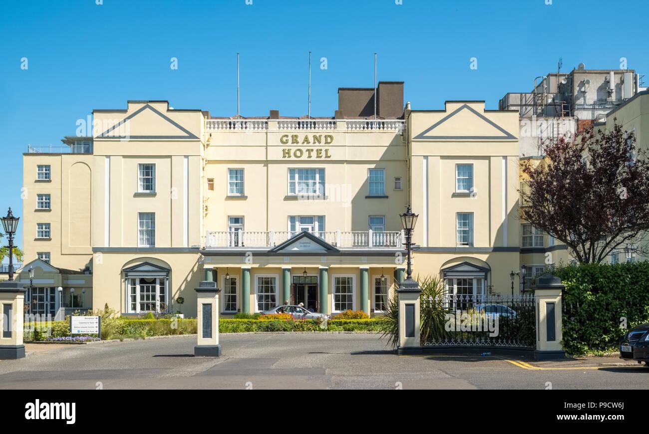 The Grand Hotel, Malahide, Fingal, Leinster, Co Dublin, Ireland, Europe - Stock Image