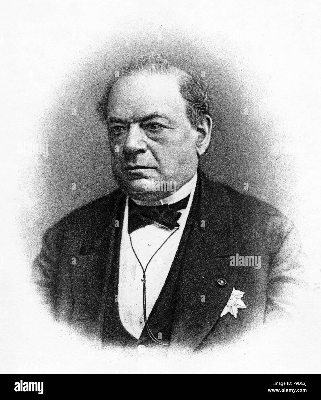 Engineer and physicist Moritz Hermann von Jacobi (1801-1874). Museum: © The Lebedev Physics Institute (FIAN), Moscow. - Stock Image