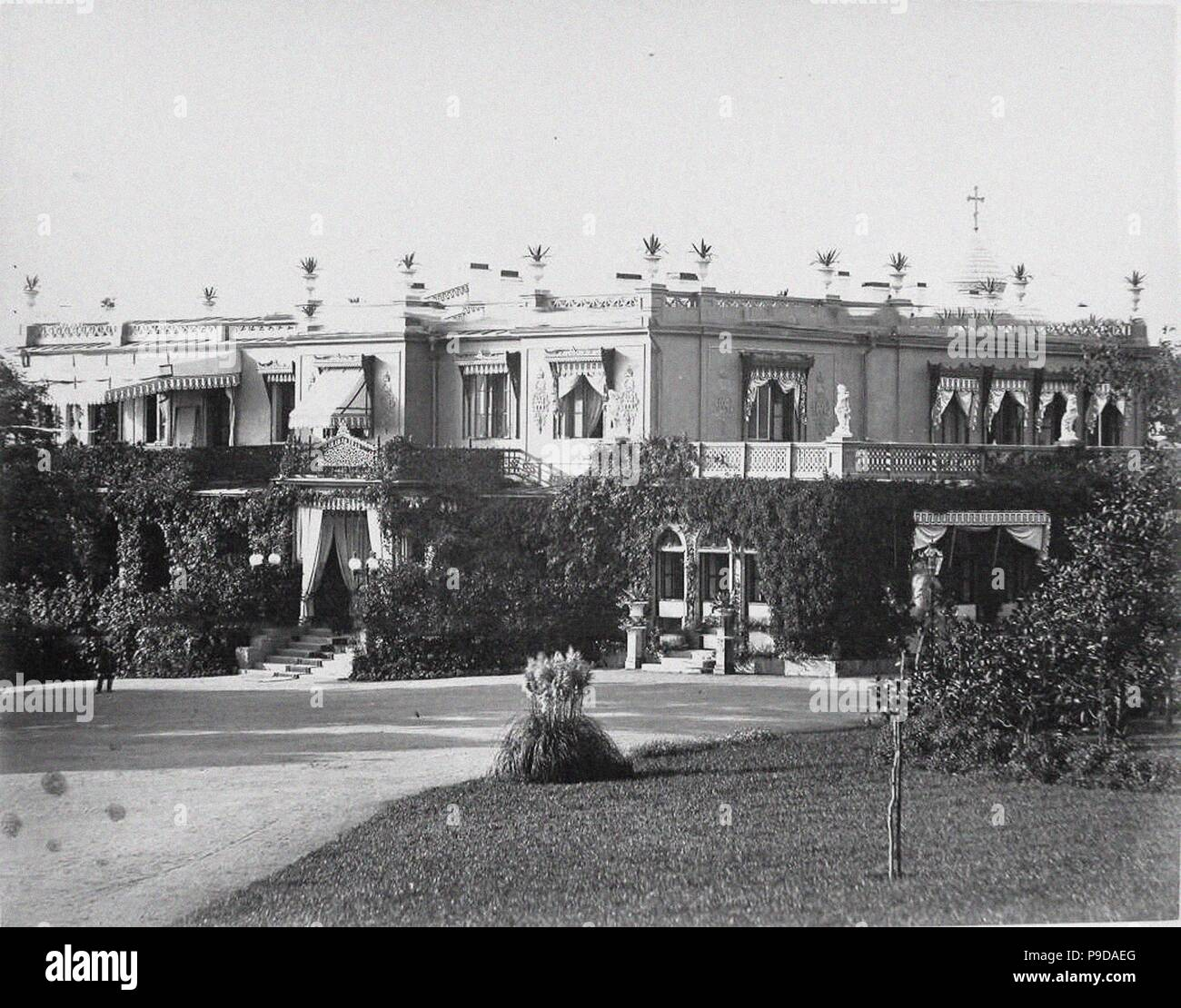 The Livadiya palace. Museum: PRIVATE COLLECTION. - Stock Image
