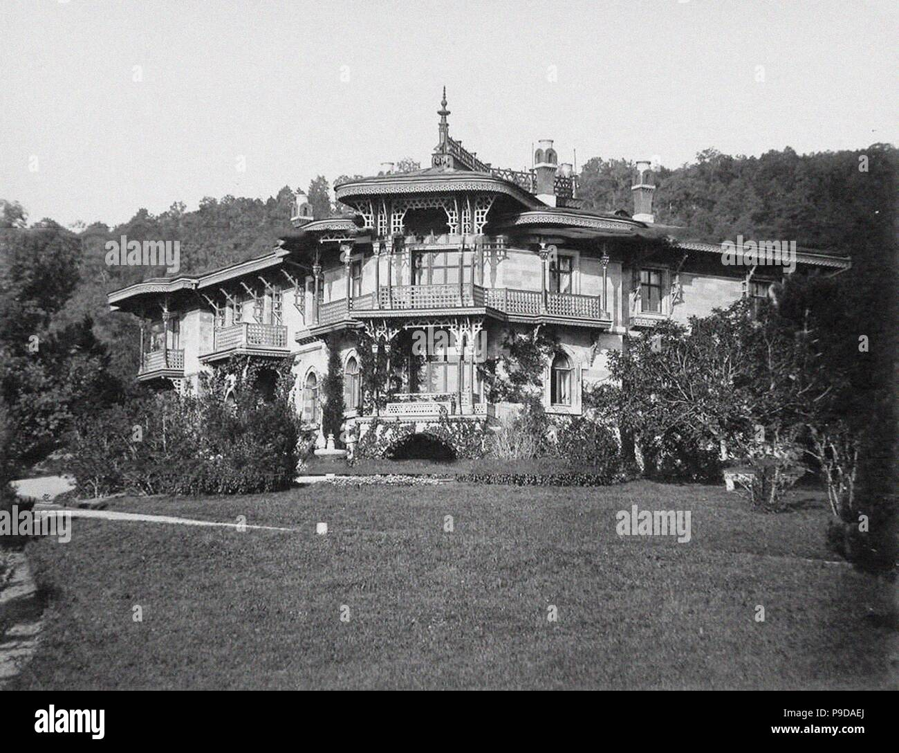 The small Livadiya palace. Museum: PRIVATE COLLECTION. - Stock Image