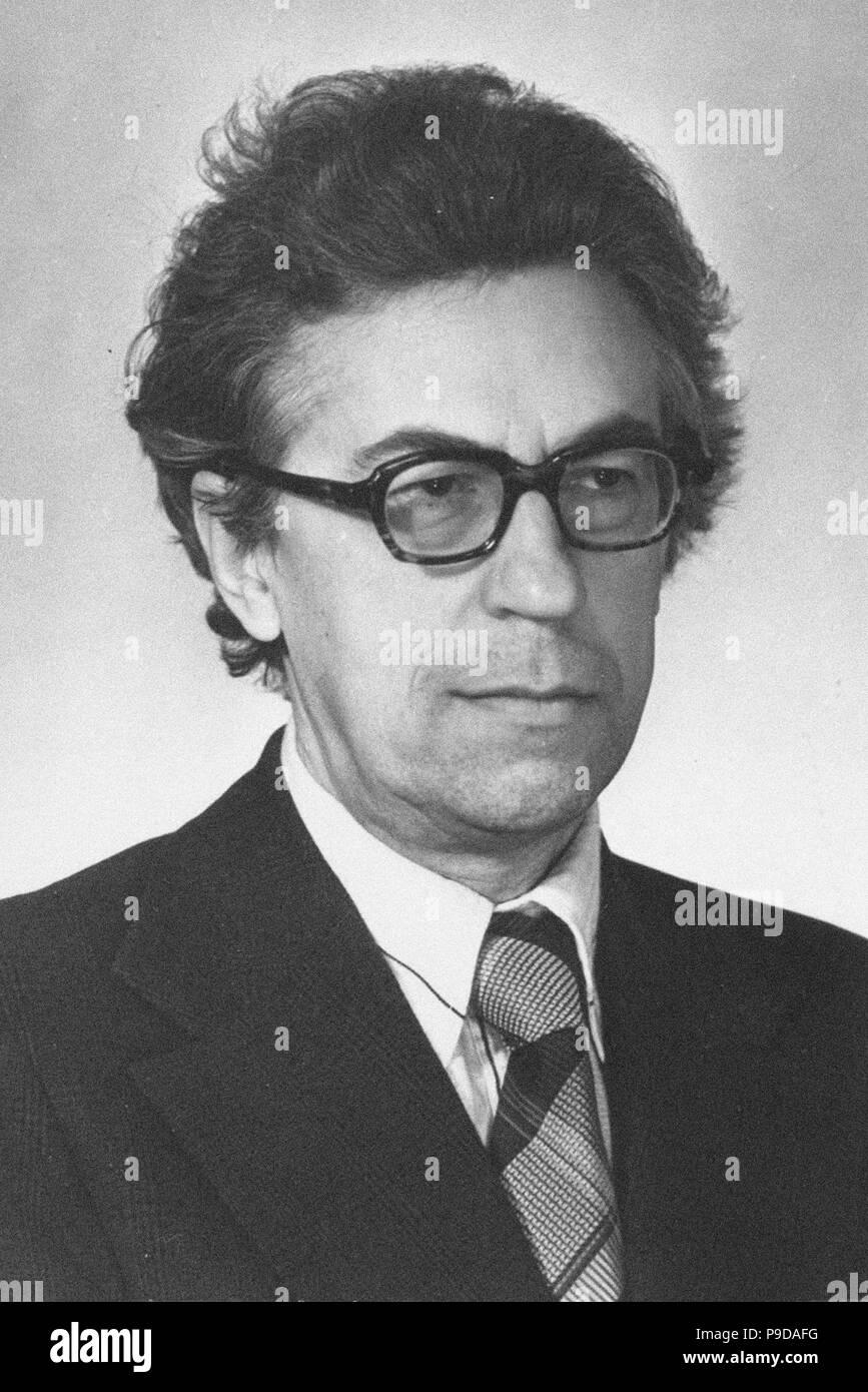 Svyatoslav Sergeyevich Lavrov (1923-2004). Museum: PRIVATE COLLECTION. - Stock Image