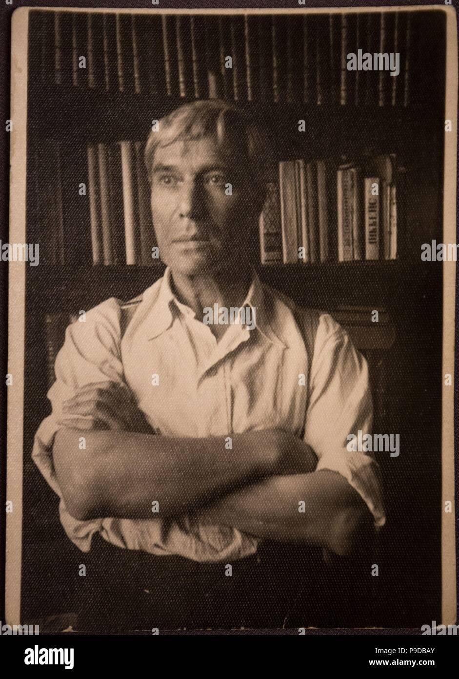 Portrait Of The Poet And Writer Boris Pasternak 1890 1960